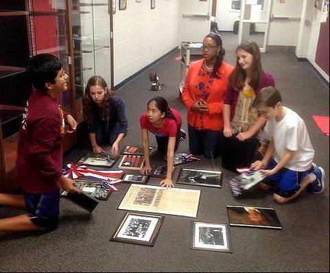 Dist. 203 Kennedy students learn of JFK through his words