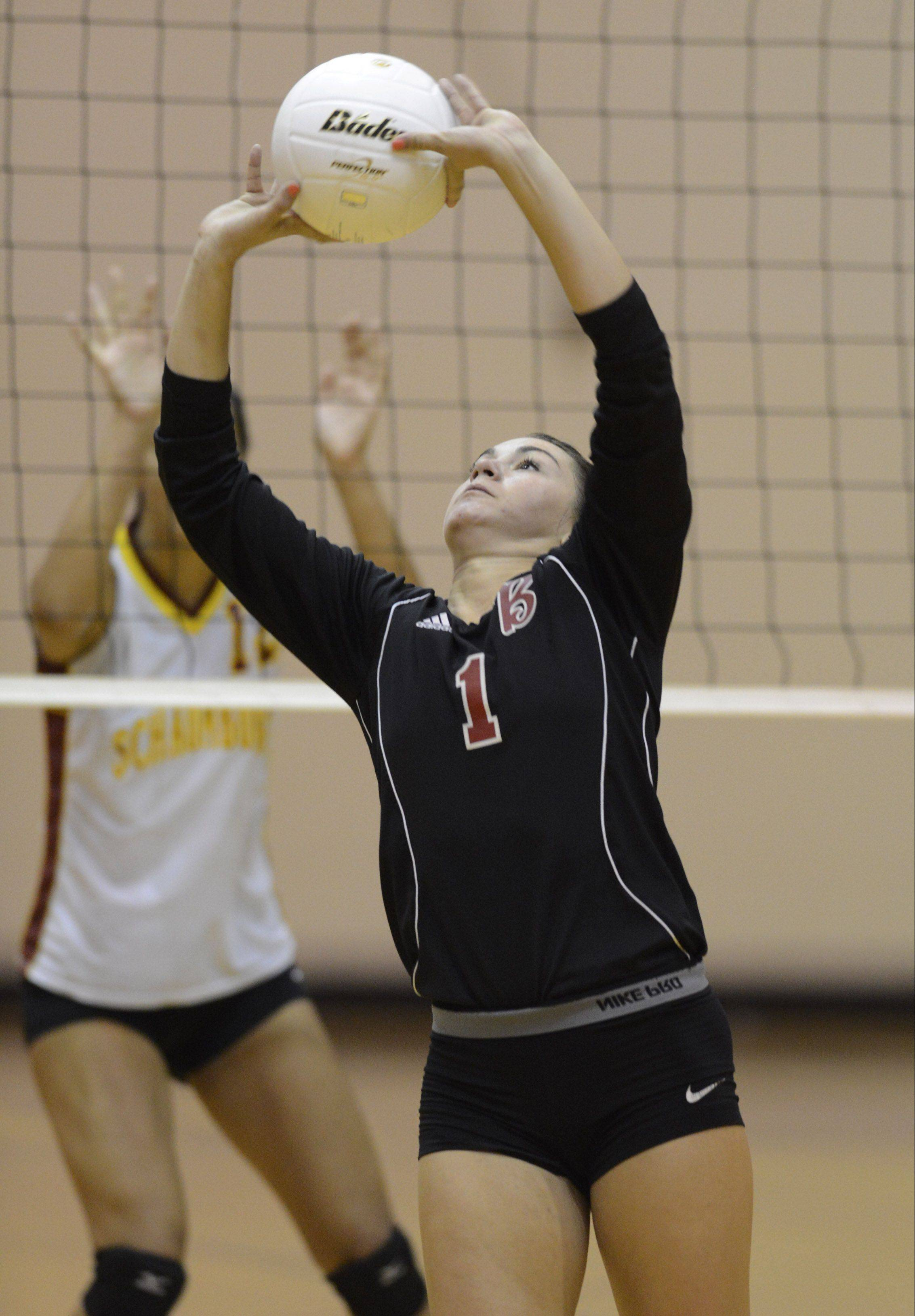With Claire Waliczek setting things up for Barrington this fall, the Fillies earned a Mid-Suburban League championship and advanced to a Class 4A regional final.
