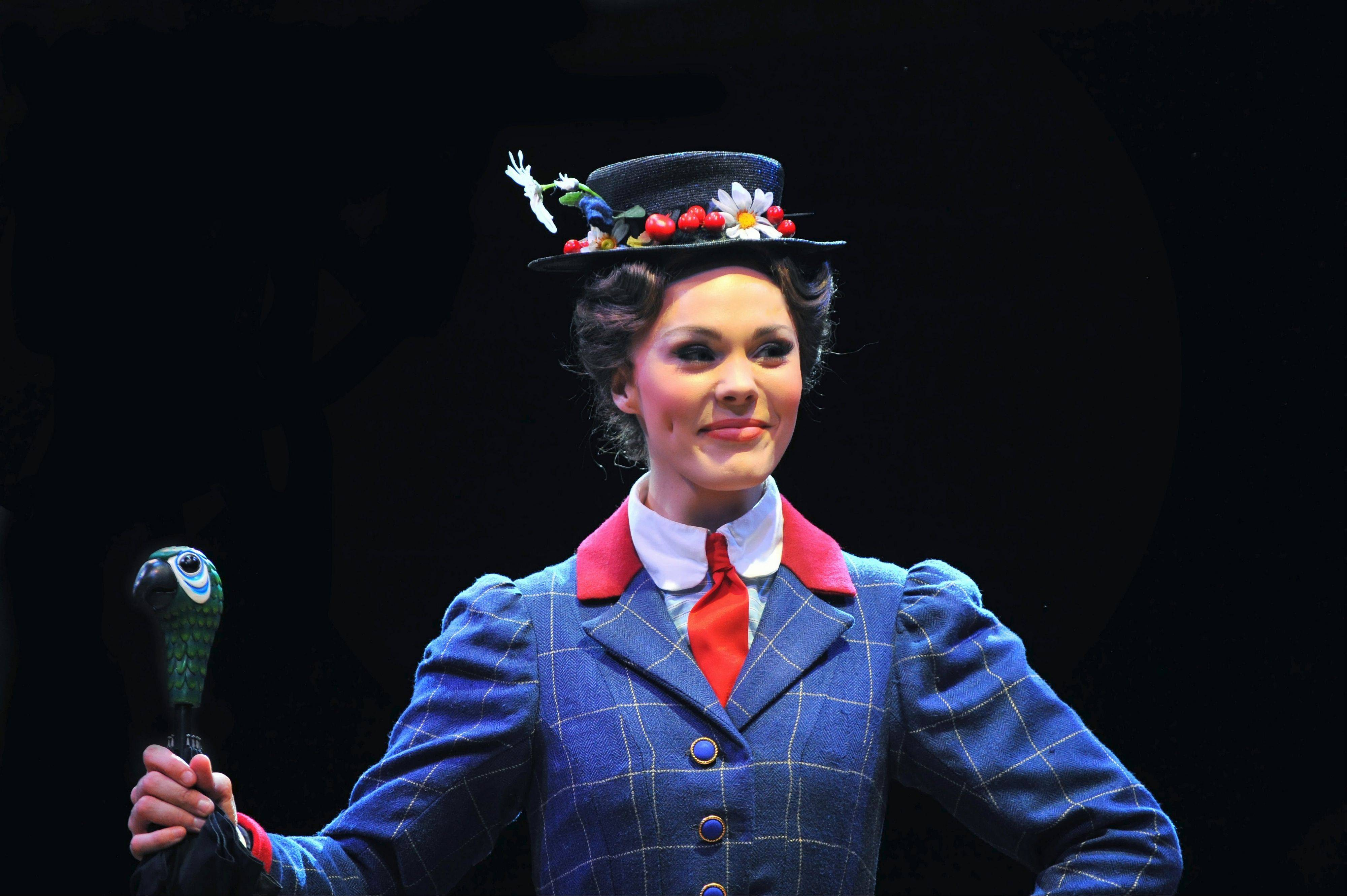 "Summer Naomi Smart stars as the ""practically perfect"" nanny in Marriott Theatre's regional premiere of ""Mary Poppins."""