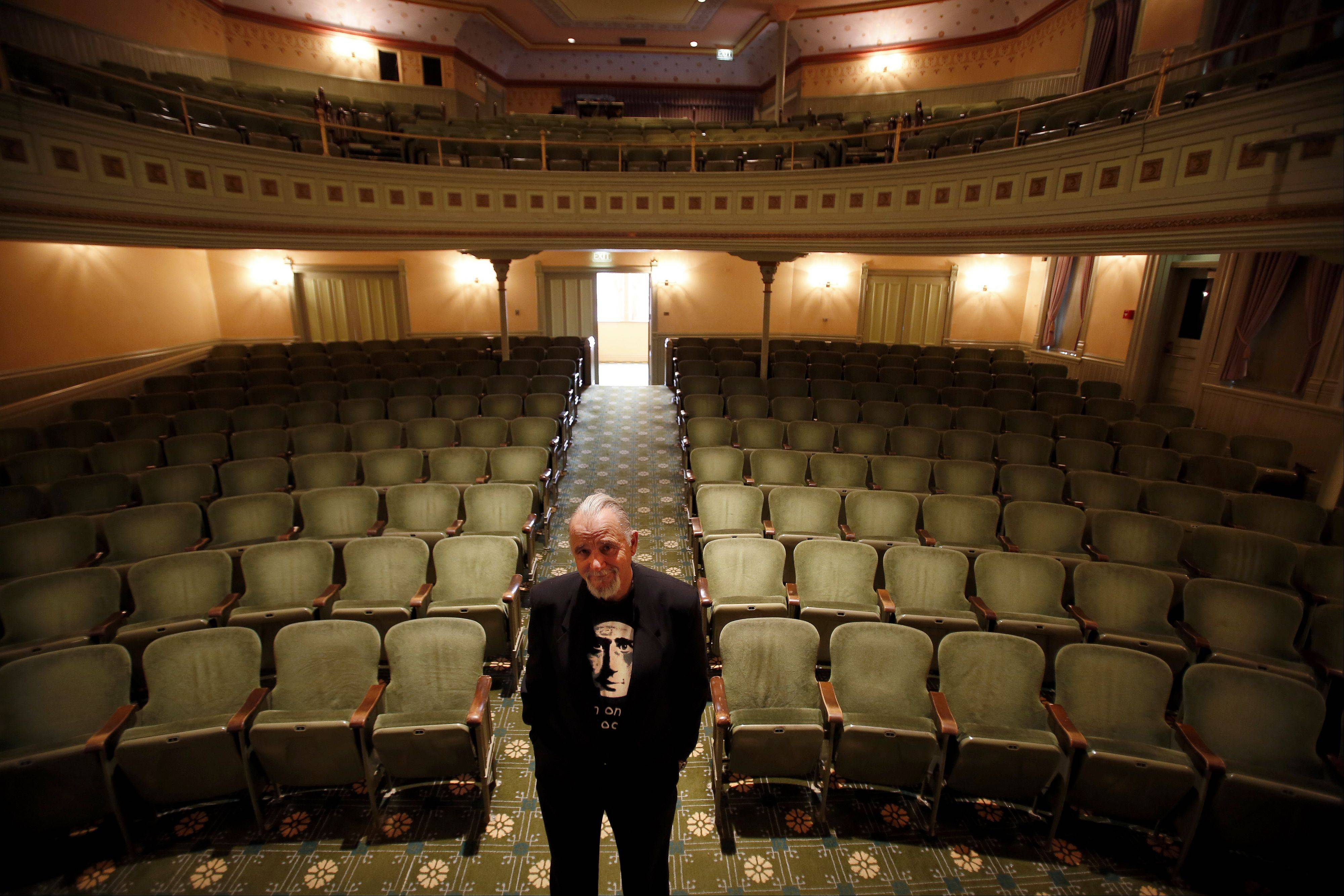 You can keep your grisly costume and gory movies. For true Halloween frights, nothing beats a scary story from master storyteller Jim May in the Woodstock Opera House.
