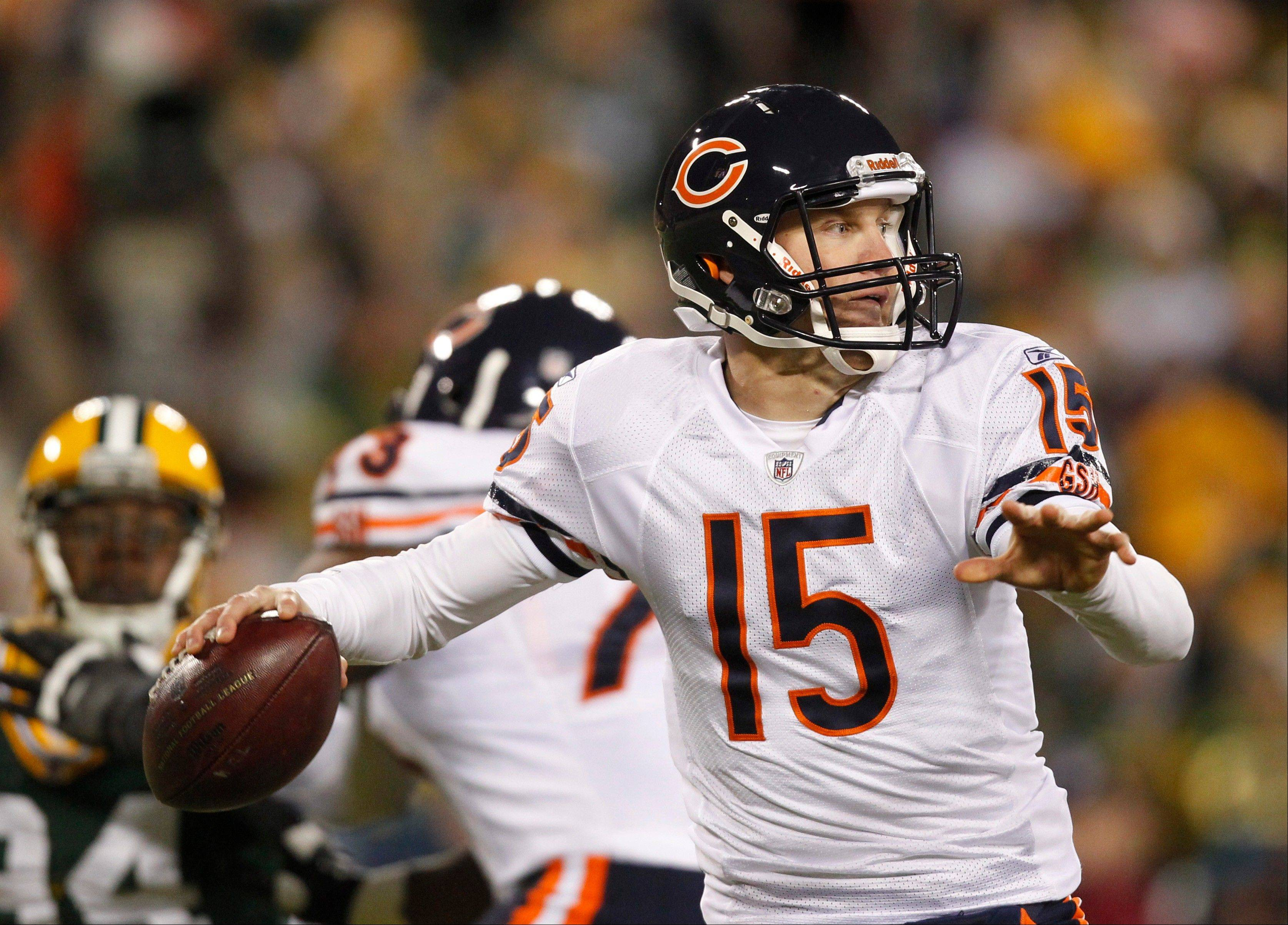 When Bears quarterback Josh McCown faced the Green Bay in 2011, he hadn't started an NFL game in four years. This time, he's had more preparation with the offensive system and he has better receivers at his disposal.