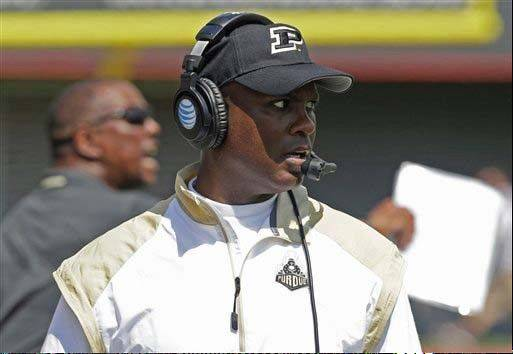Purdue head coach Darrell Hazell will try to make life difficult for No. 4 Ohio State on Saturday.