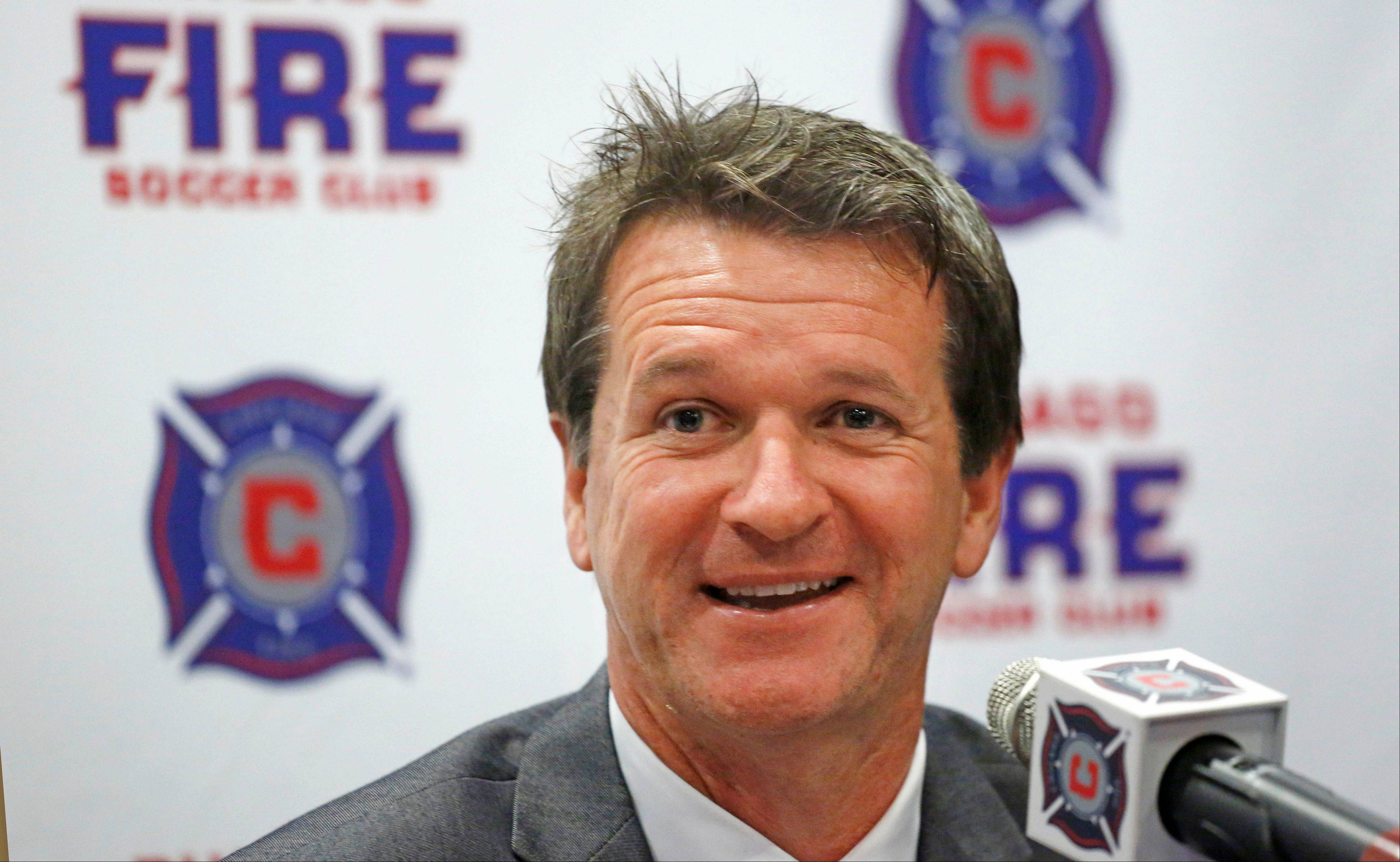 Frank Yallop, the new head coach and director of soccer for the Chicago Fire, has won two MLS Cup titles in his coaching career.