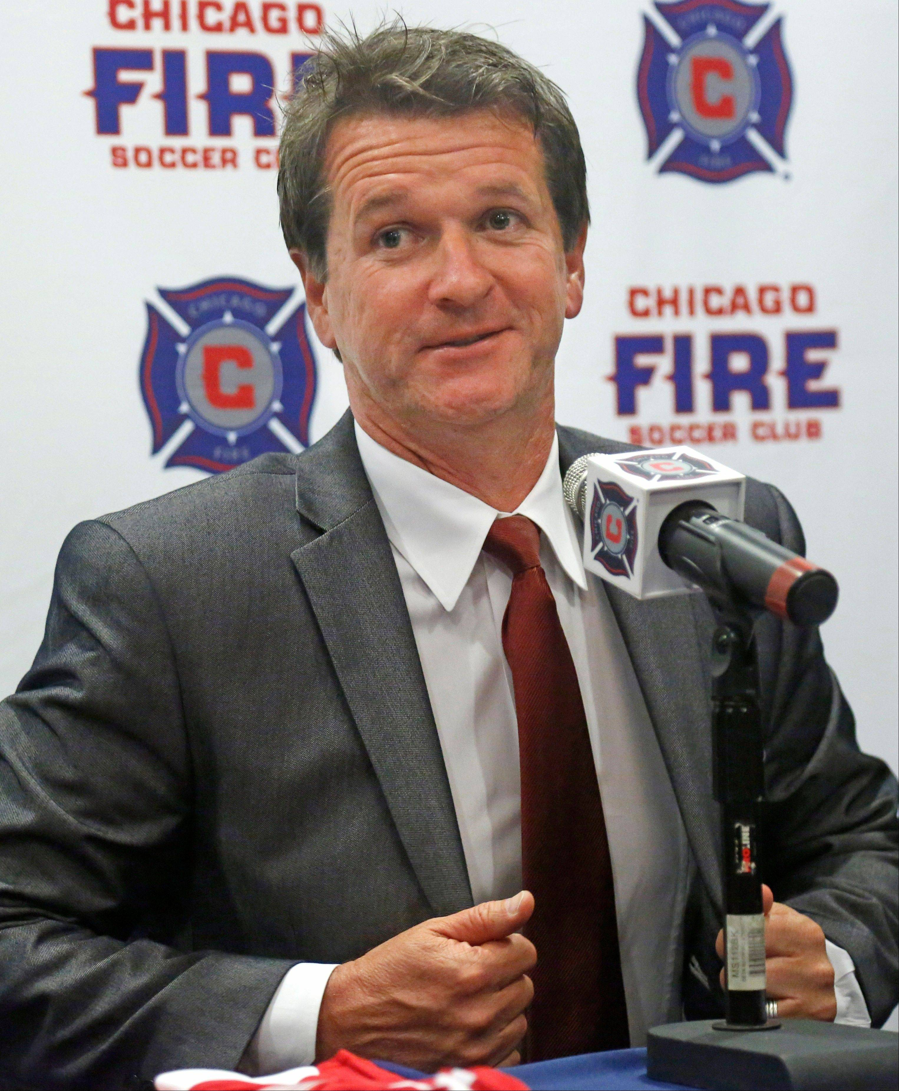 New Chicago Fire head coach Frank Yallop will also hold the title of president of soccer operations and essentially have final say on the roster.