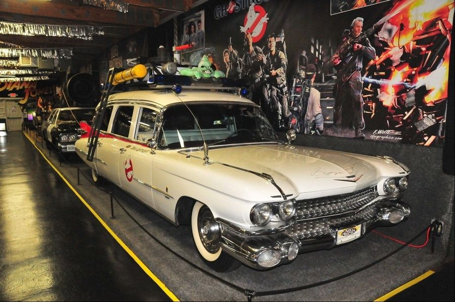 Bid on the Ghostbusters hearse at Volo Auto Museum auction