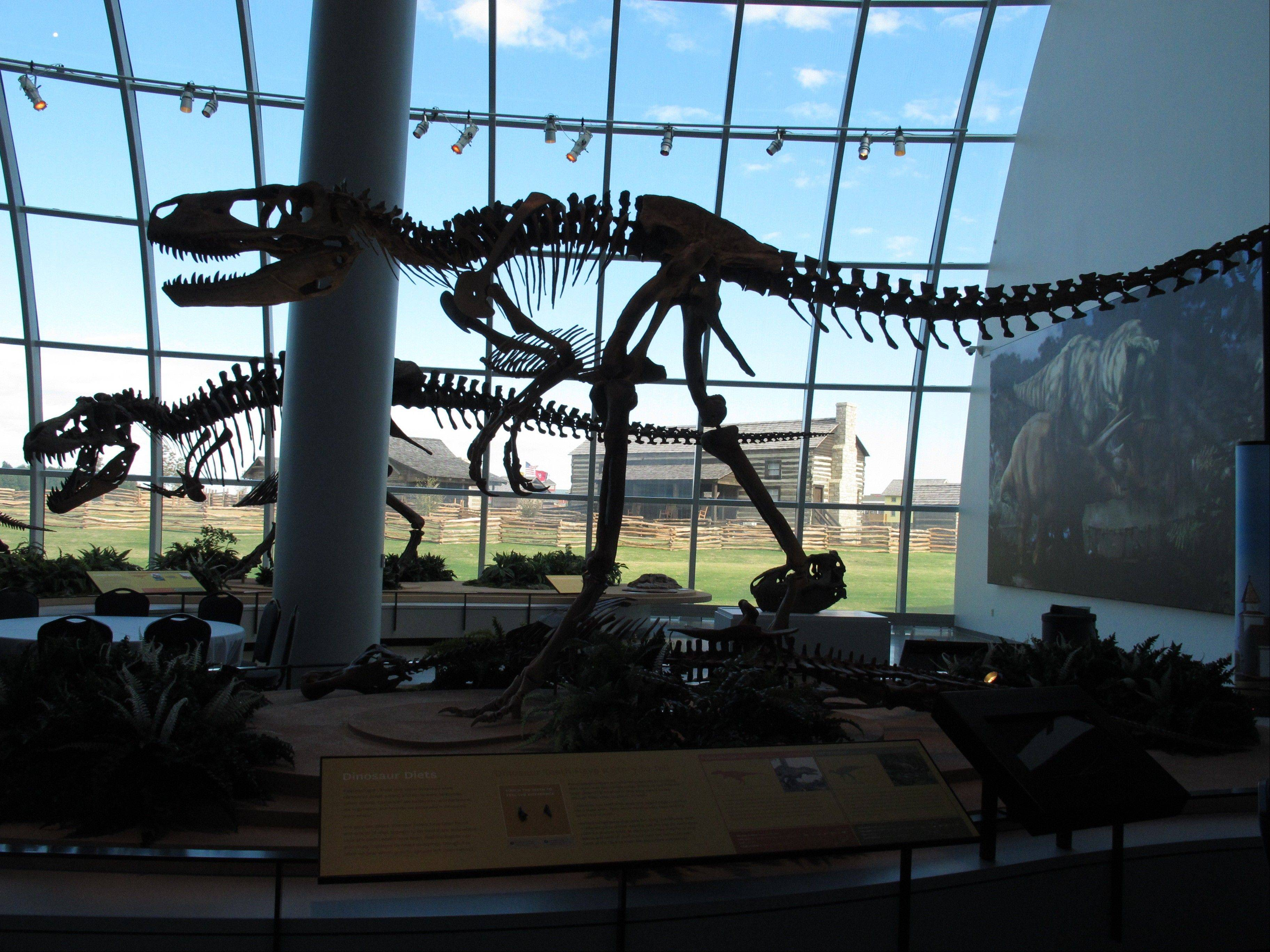 Visitors can view dinosaur skeletons and much more at Discovery Park of America, a new museum and educational venue in Union City, Tenn.