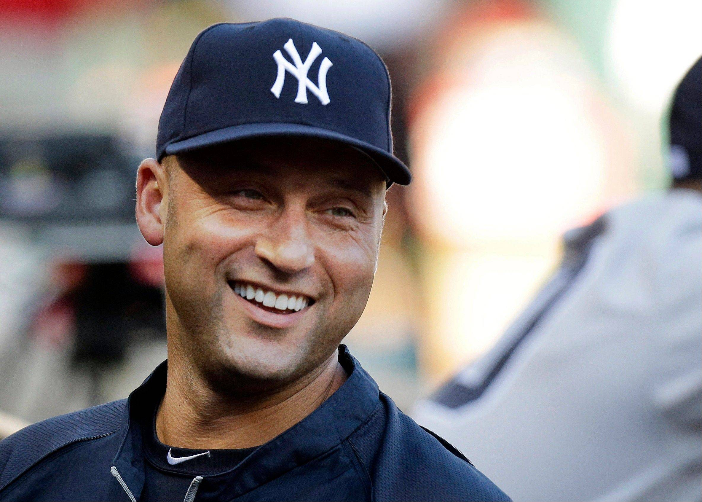 Yankees shortstop Derek Jeter wound up hitting .190 (12 for 63) with one homer and seven RBIs in a 2013 season marred by injuries.