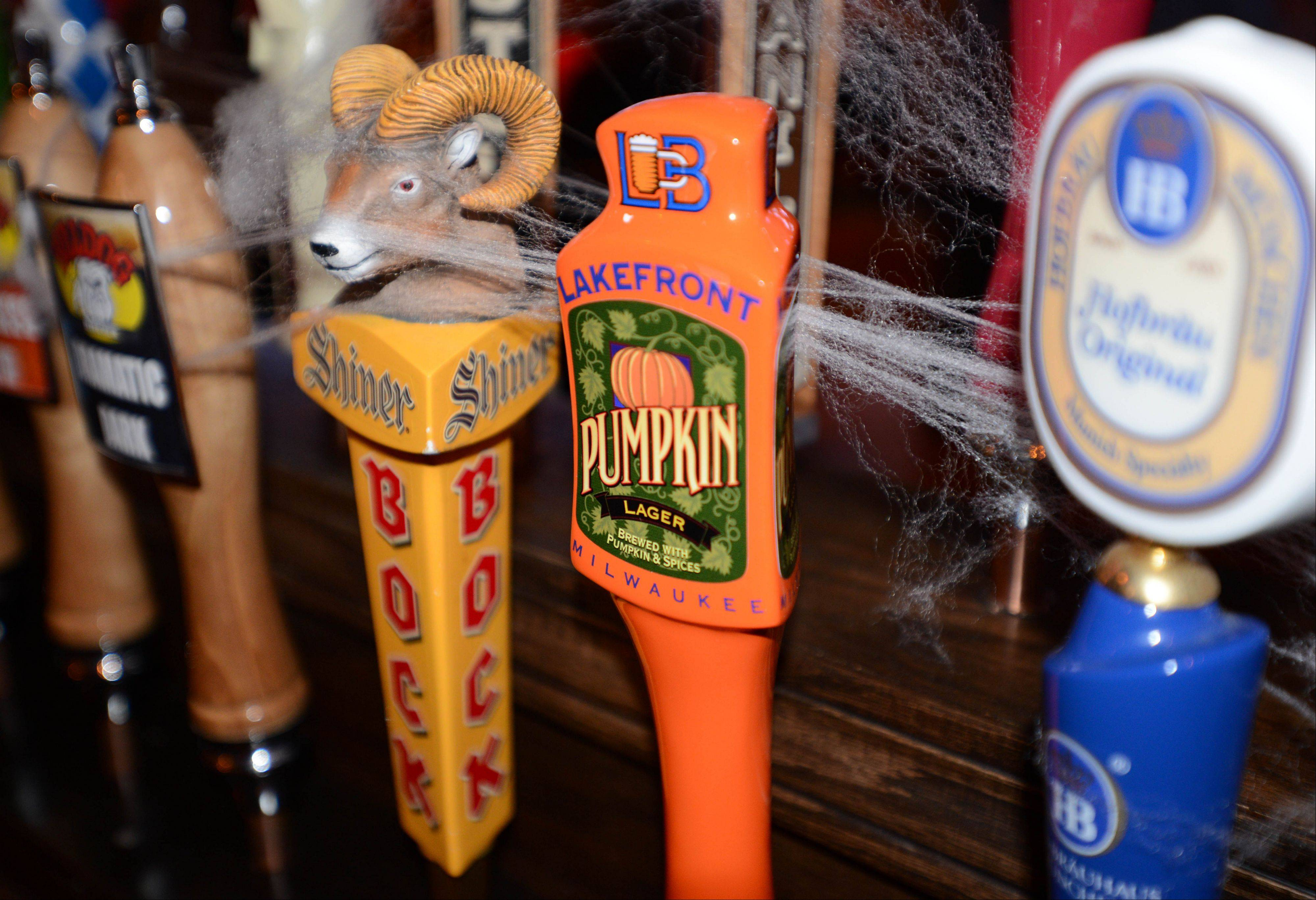 Bulldog Ale House in Roselle has a massive selection of beers on tap.