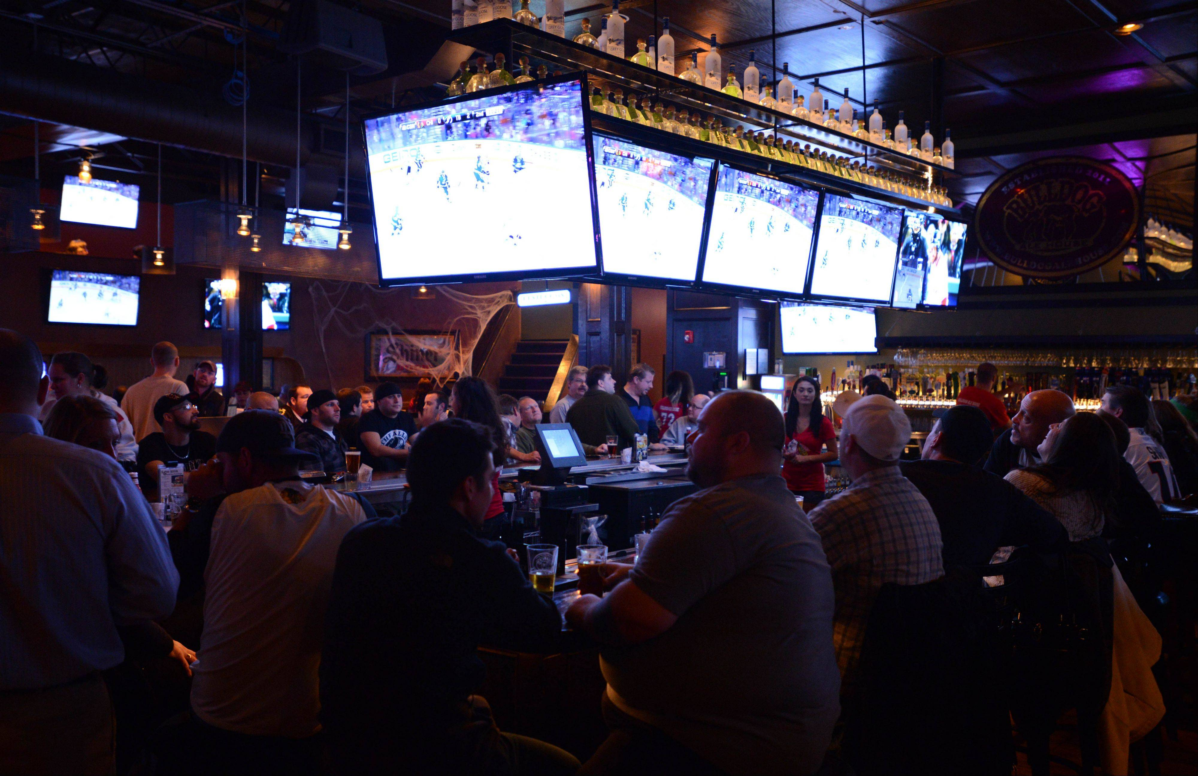 Bulldog Ale House in Roselle has 72 beers on tap, plus plenty of other drink options.