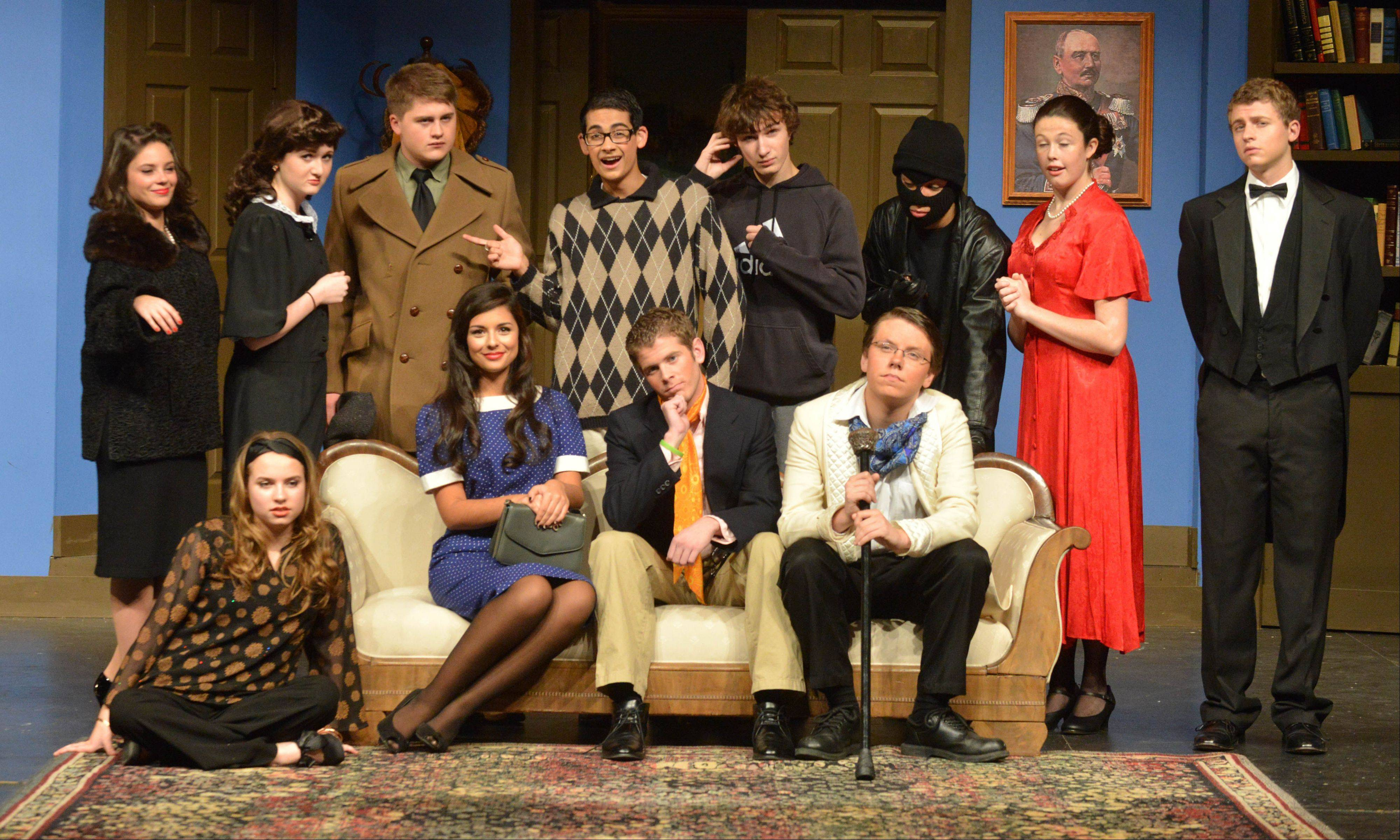 """The Musical Comedy Murders of 1940"" continues Friday and Saturday in the Naperville Central High School auditorium."