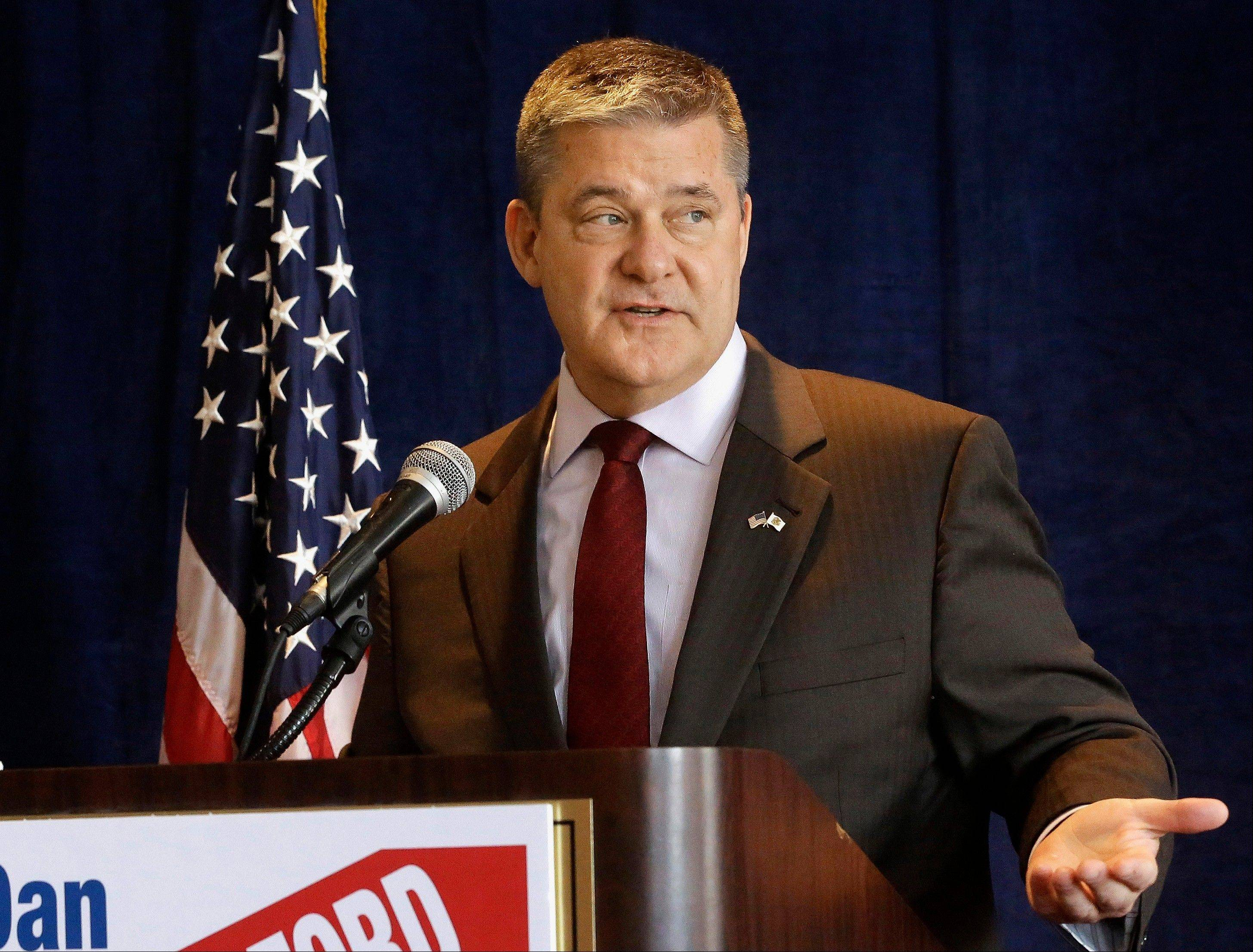 Illinois Treasurer Dan Rutherford is seeking the Republican nomination for governor in 2014.