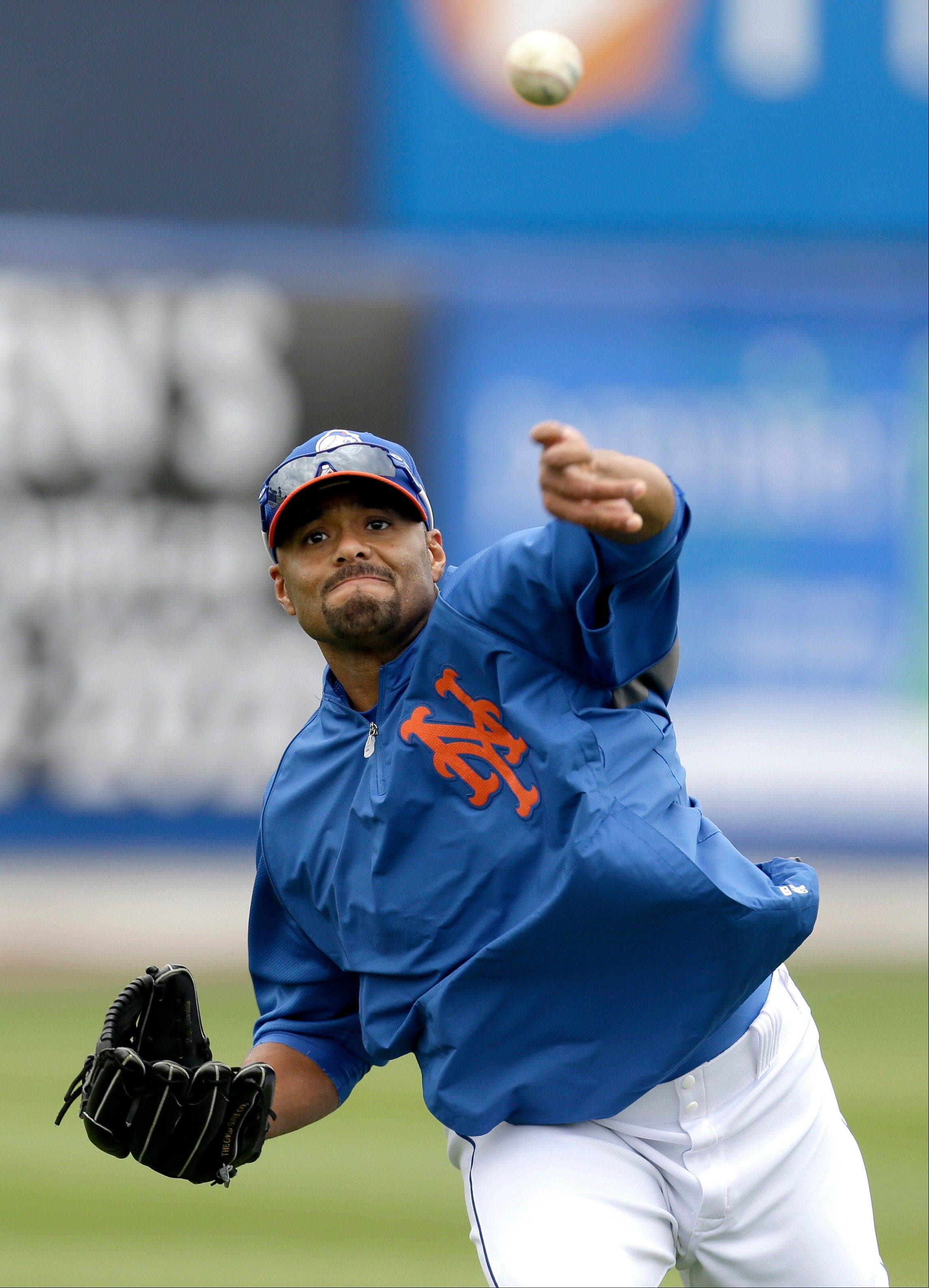 Mets pitcher Johan Santana had surgery April 2 for a tear in the capsule in the front of his left shoulder.
