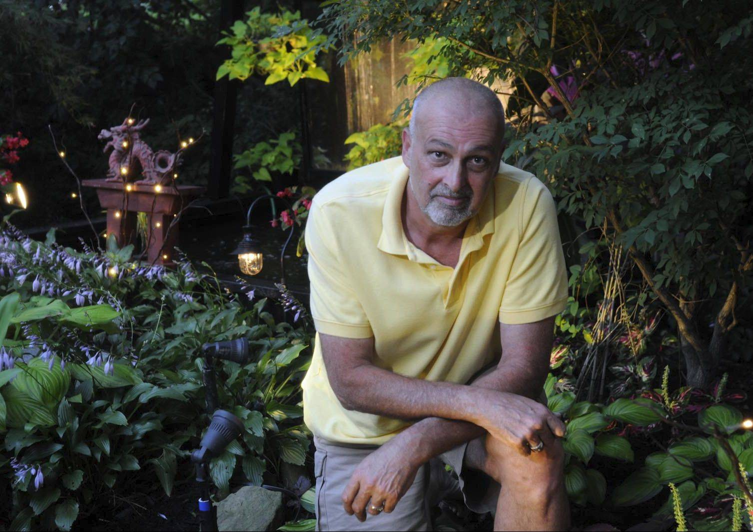 Ed McHugh is the winner of a garden contest sponsored by the Pittsburgh Post-Gazette and the Pittsburgh Botanical Garden.