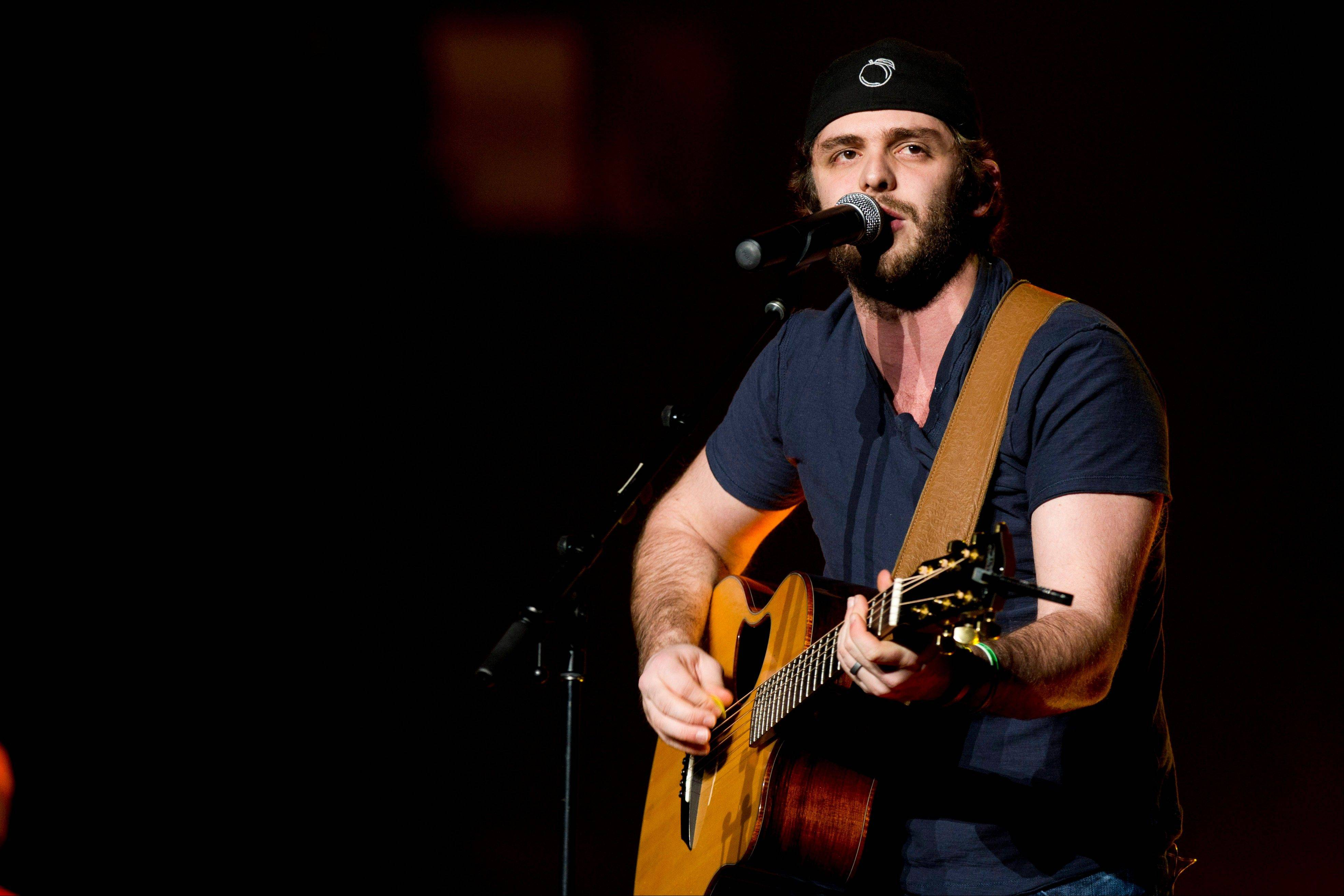 Thomas Rhett opens for Jason Aldean at Madison Square Garden in New York. Growing up watching his father, Rhett Akins, on tour gave the 23-year-old Thomas Rhett some insight at a young age about how to deal with nerves and crowds.