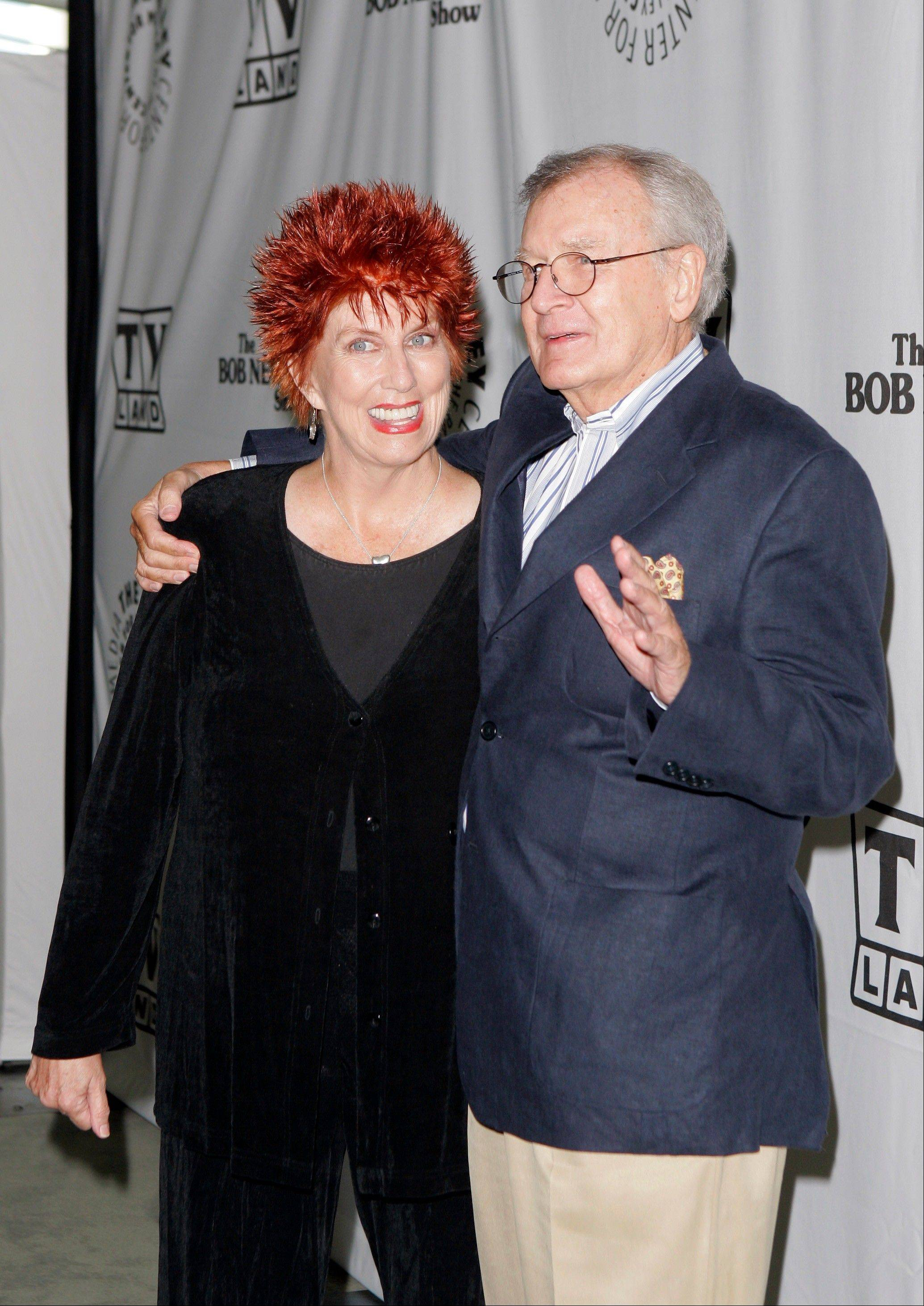 "Actors Marcia Wallace and Bill Daily arrive for TV Land's 35th anniversary tribute to ""The Bob Newhart Show"" in Beverly Hills, Calif."
