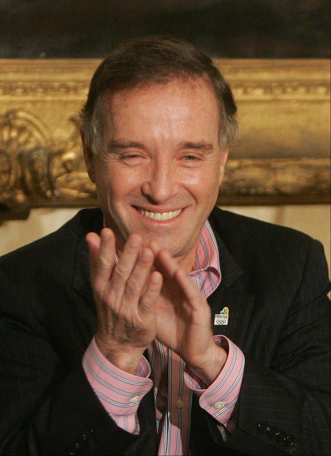 In this April 7, 2009 file photo, Brazilian billionaire Eike Batista attends a ceremony in which Batista donated about $4.5 U.S. million dollars for the the Rio 2016 Olympic games bid, in Rio de Janeiro, Brazil. The oil company of Brazil's one-time richest man Eike Batista has filed for bankruptcy protection on Oct. 30, 2013.