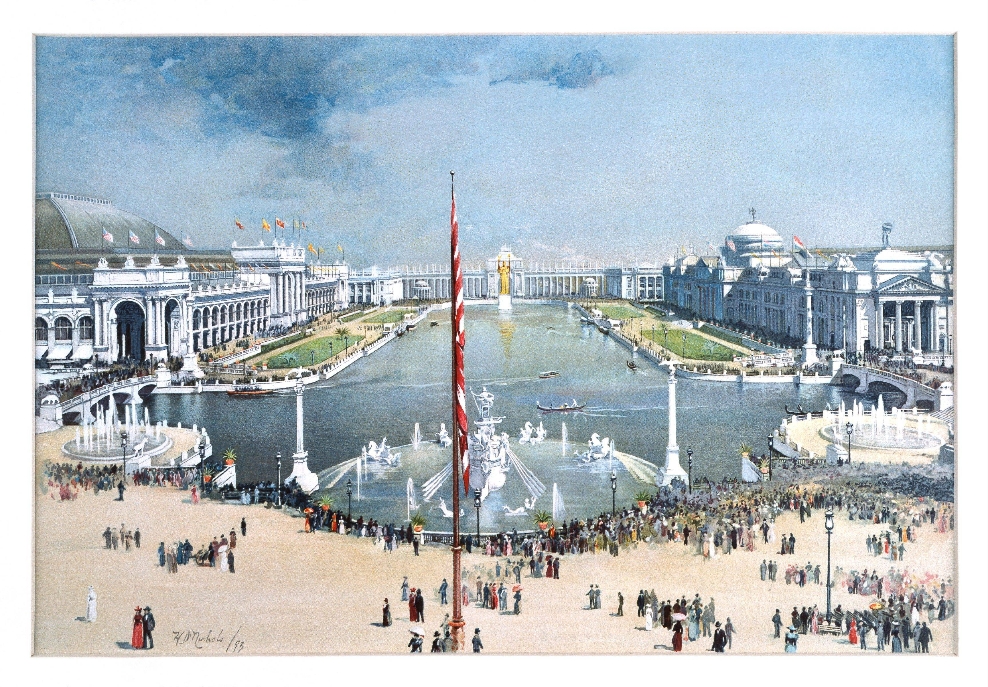 The 1893 World's Fair covered 630 acres in Chicago's Jackson Park and the Midway Plaisance — a narrow strip of land designated as an amusement area.