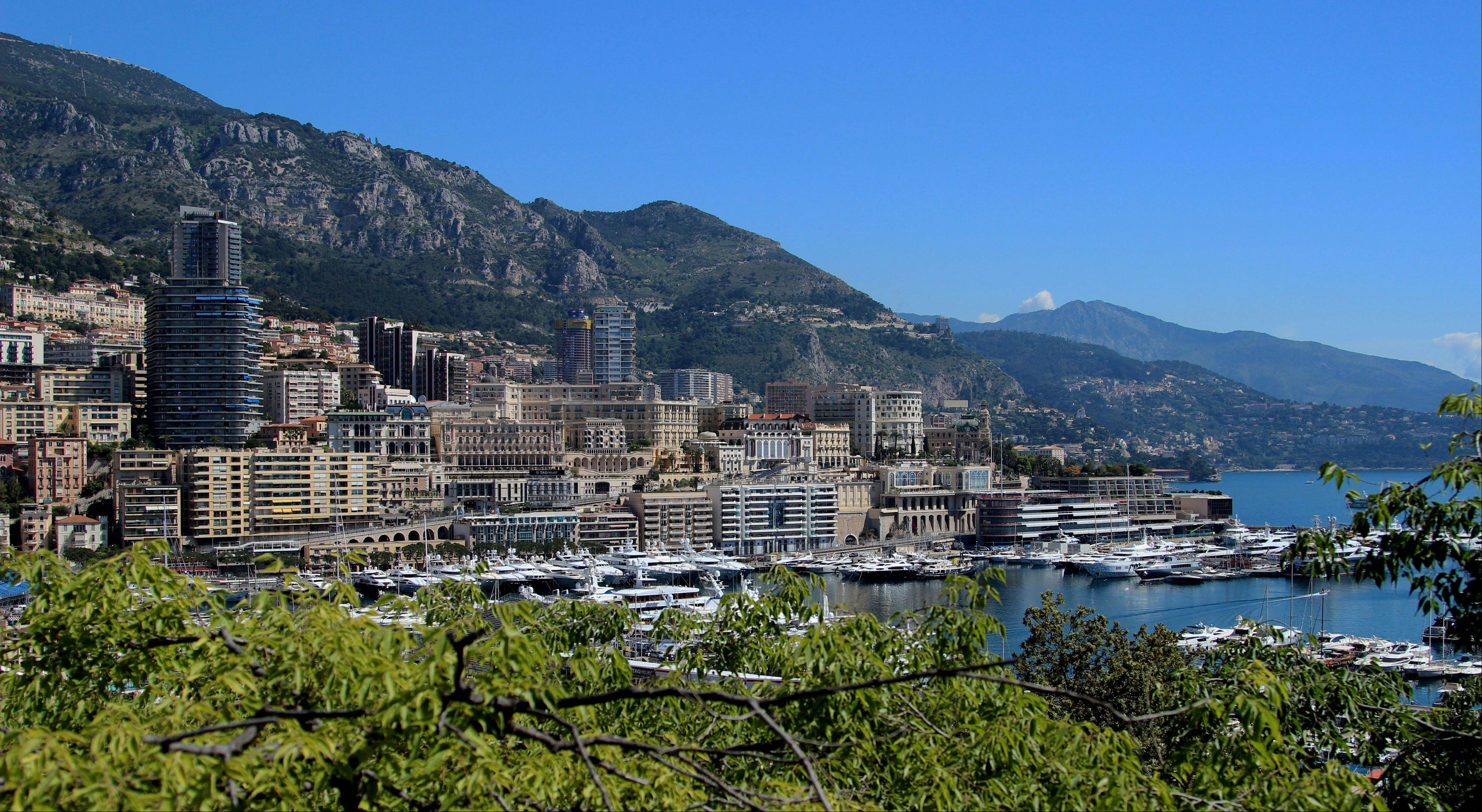 Monaco is set on a narrow strip of land bordered by France on three sides and the Mediterranean on the other. Monaco can be reached via three scenic roads, the Basse Corniche, the Moyenne Corniche or the Grande Corniche.