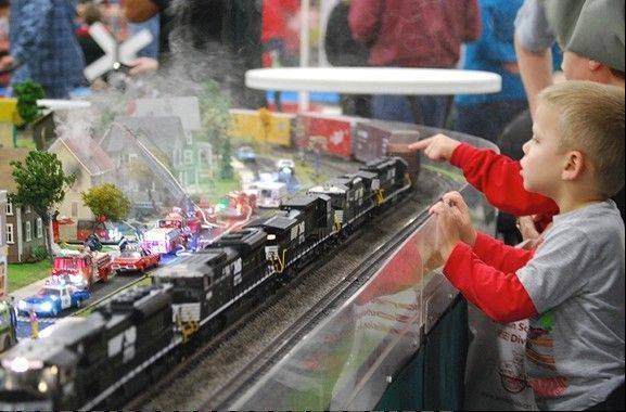 Trainfest features four football fields full of model trains, plus a Kids Activity Zone. It's Nov. 9-10 at the Wisconsin Expo Center at State Fair Park in West Allis, Wis.
