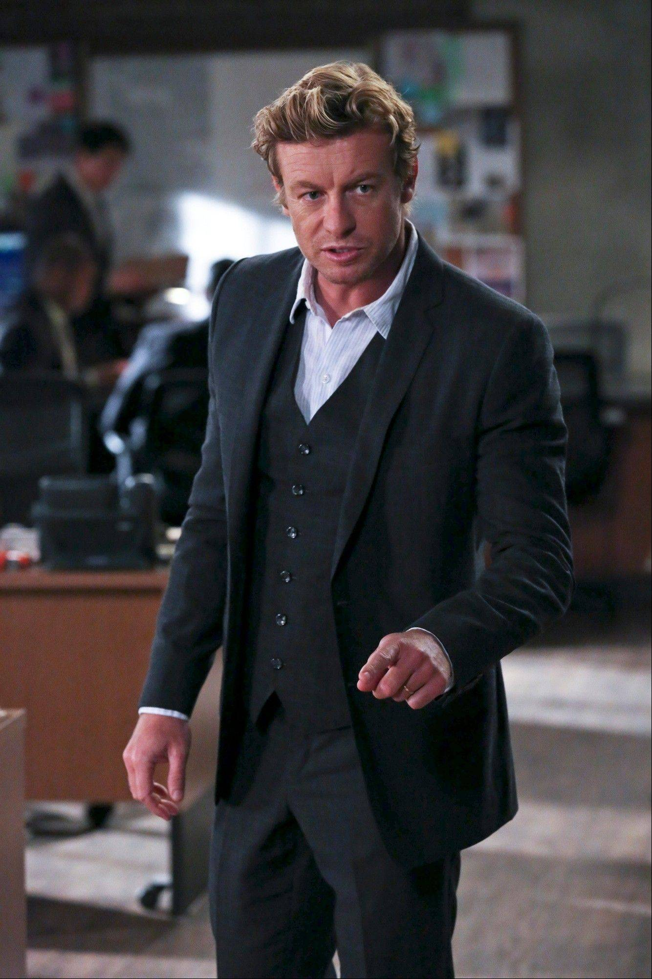 "Courtesy of CBSPatrick Jane (Simon Baker) may be closing in on the identity of the man who killed his family on CBS' ""The Mentalist."""