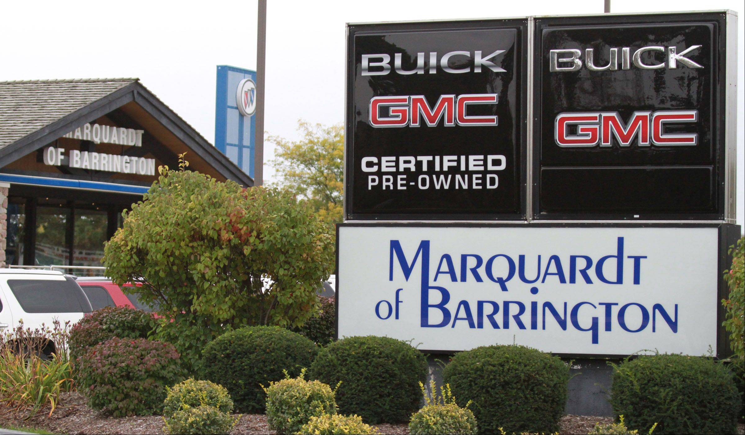 For 41 of its 50 years, Marquardt of Barrington has been at this Barrington Road location.