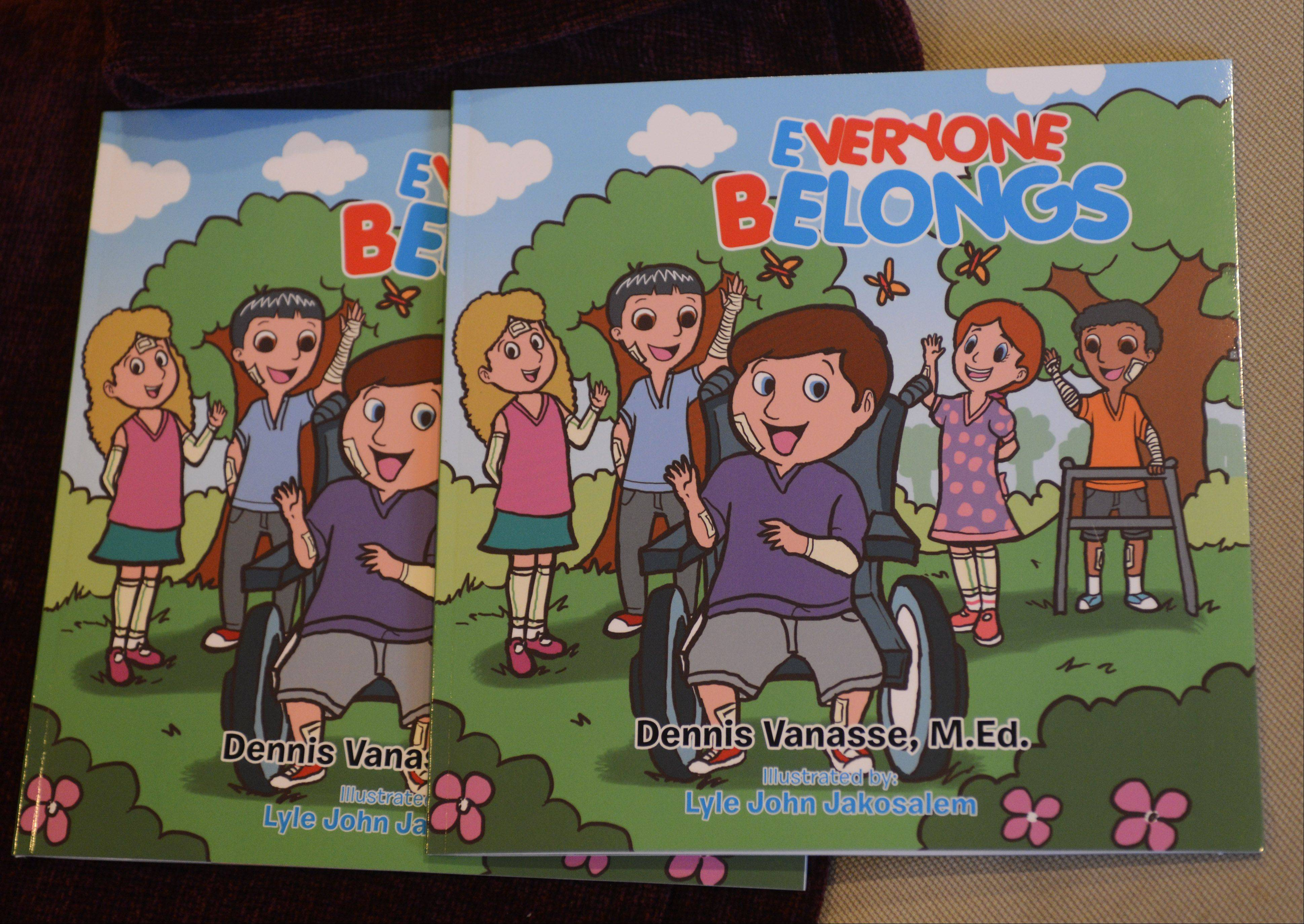 "The book ""Everyone Belongs"" tells of a child living with epidermolysis bullosa, a disorder that makes skin extremely fragile."