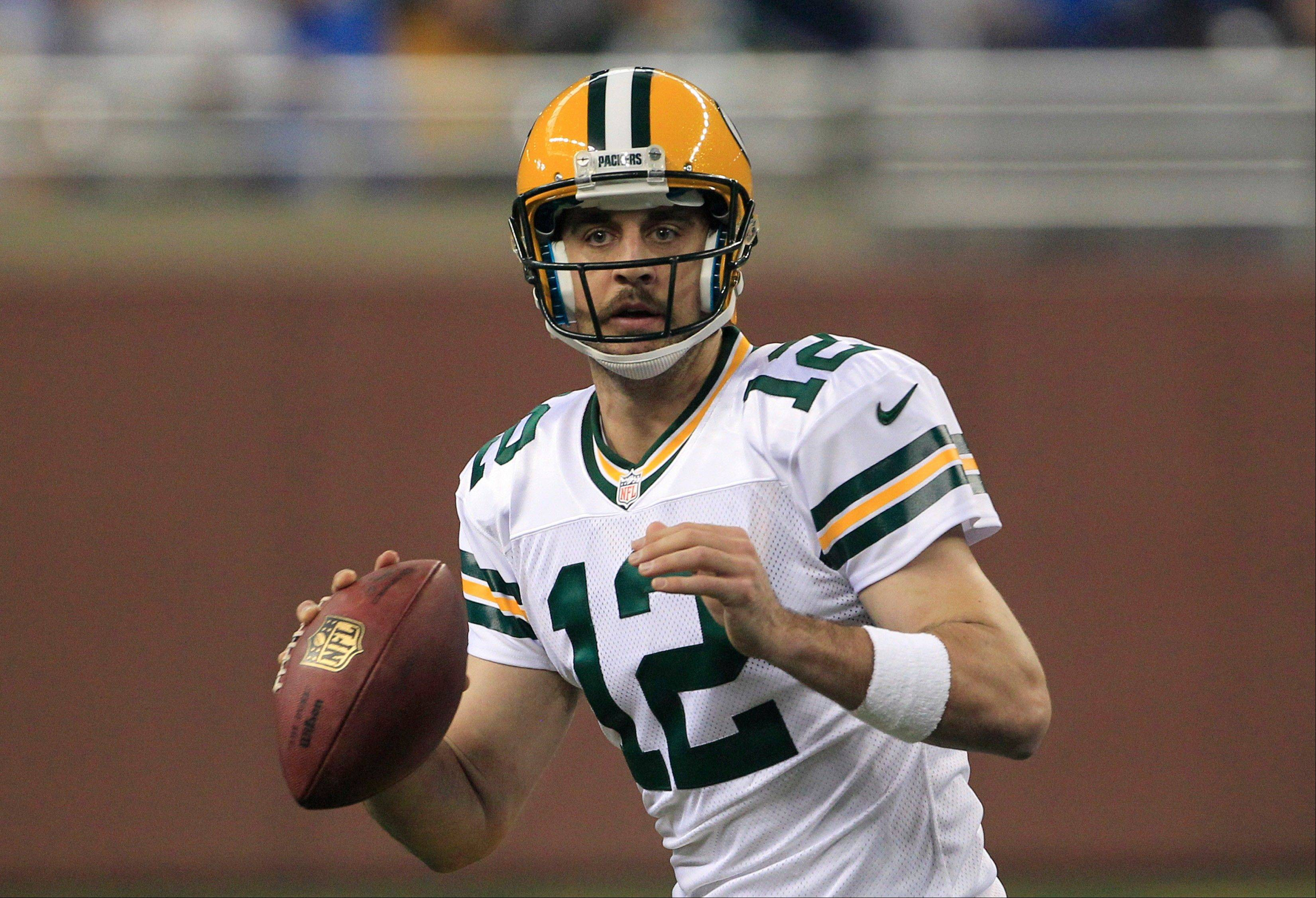 Aaron Rodgers is 4-0 in his last four games against the Bears with 12 TD passes, just 2 interceptions and an impressive passer rating of 117.2.