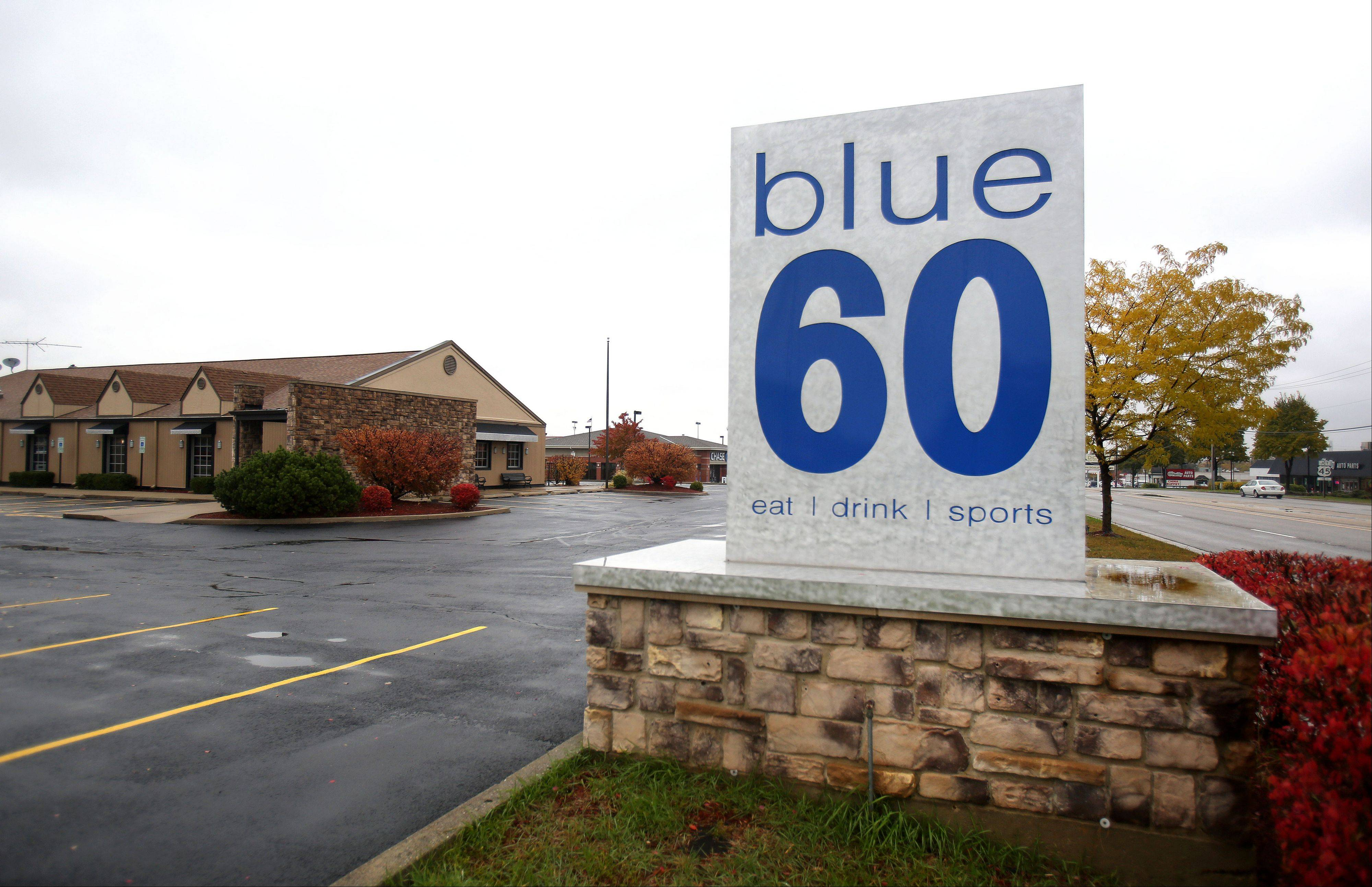 Phil Gilardi, owner of Philly G's in Vernon Hills, is reopening Blue 60 in Mundelein as Tavern on 60. He hopes to end a string of unsuccessful ventures at the restaurant site.