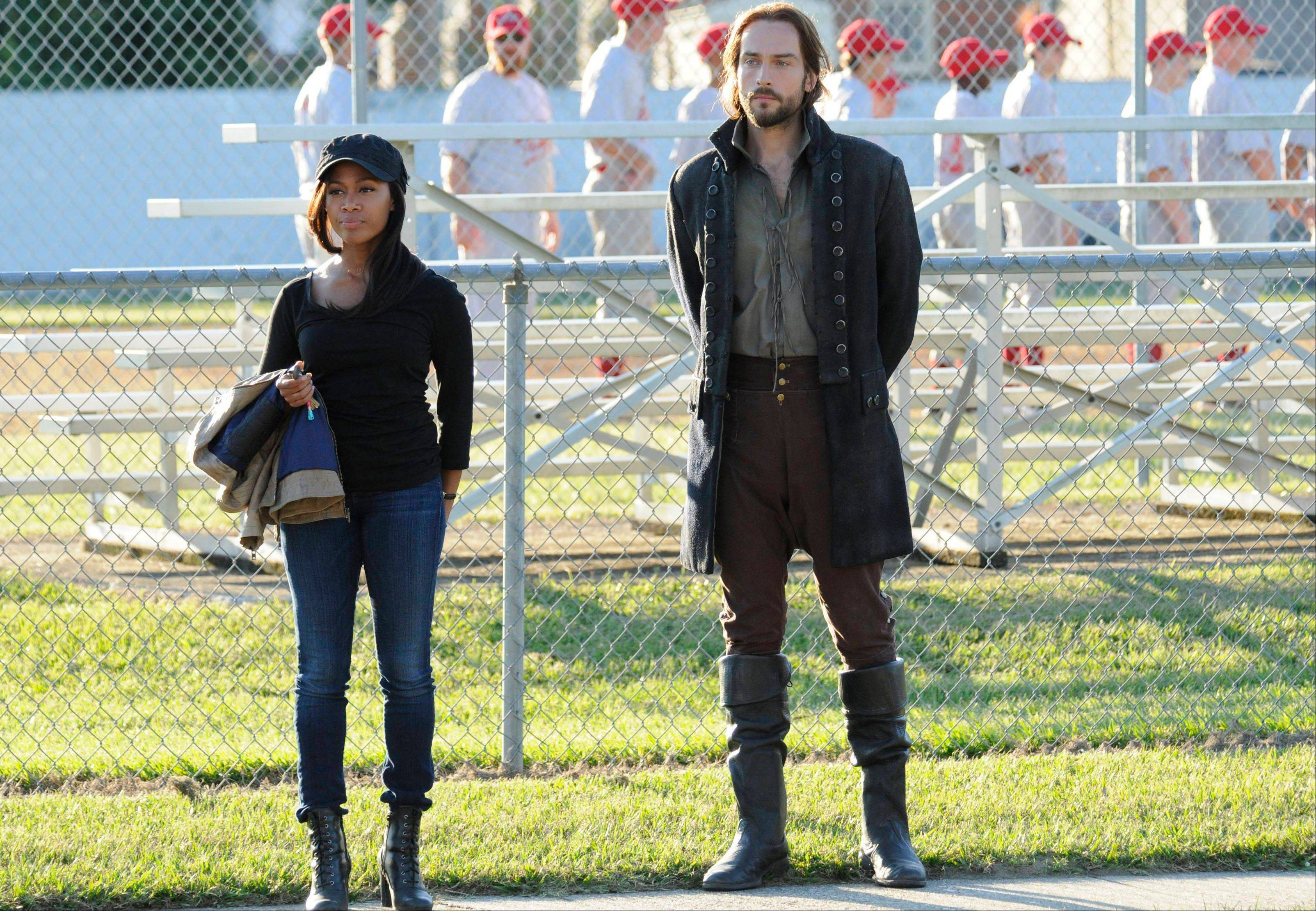 "Nicole Beharie plays police Lt. Abbie Mills and Tom Mison plays Ichabod Crane in Fox's ""Sleepy Hollow."" The new show has spurred interest in the village of Sleepy Hollow, N.Y."