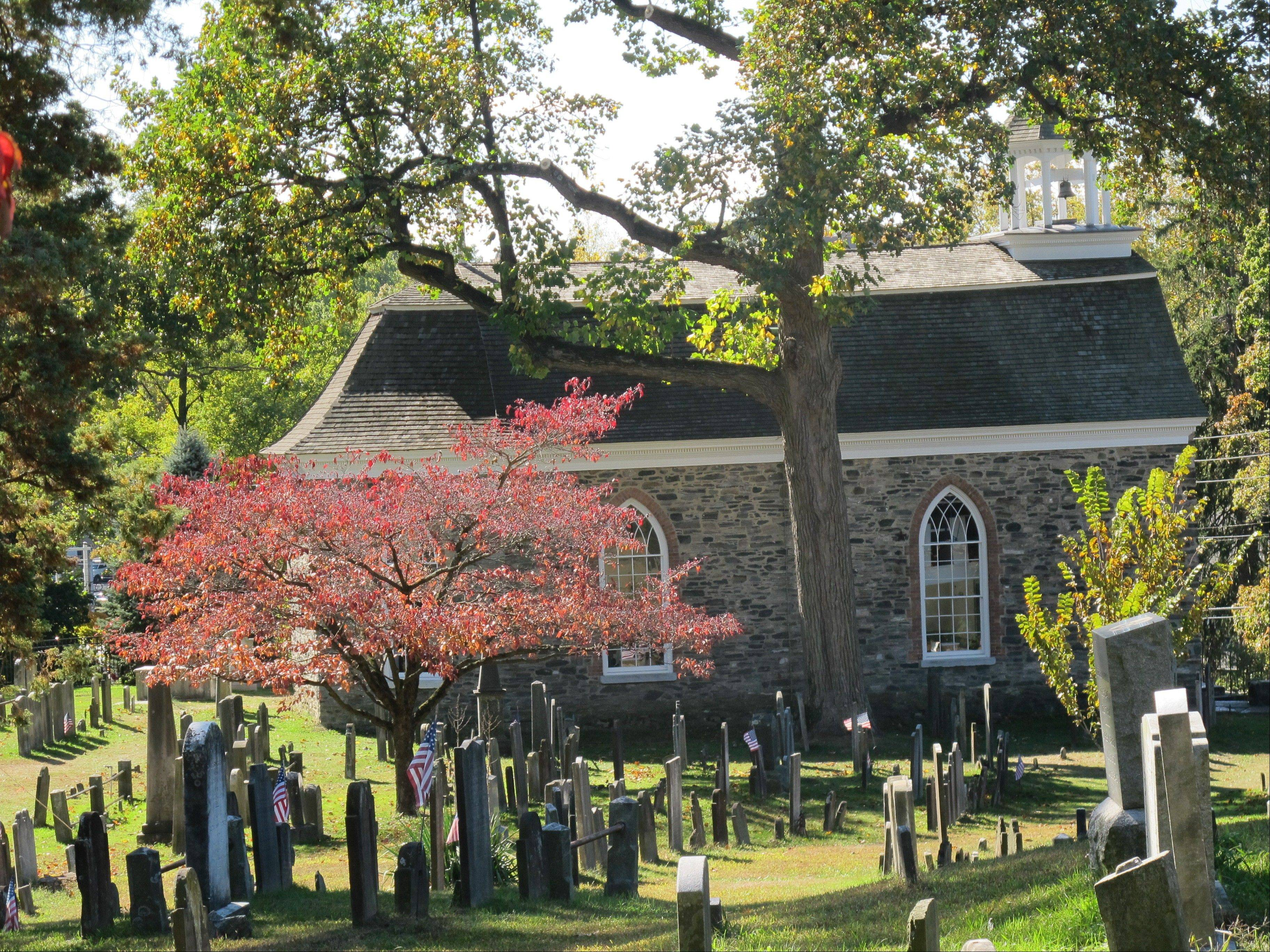"The Old Dutch Church and Sleepy Hollow Cemetery in Sleepy Hollow, N.Y., have attracted more tourists this year because of Fox's new ""Sleepy Hollow"" TV series inspired by the tale of the Headless Horseman."