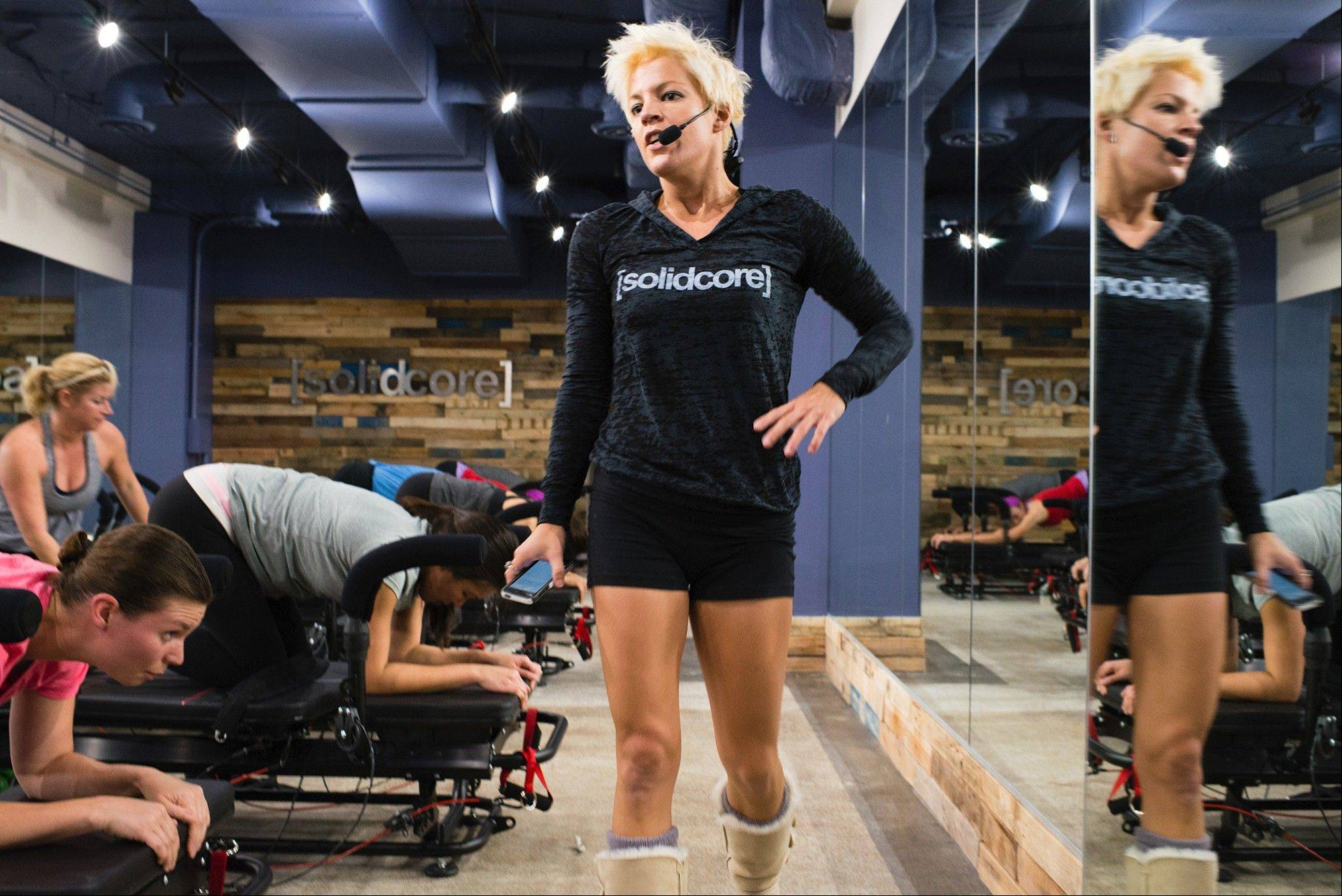 "Anne Mahlum founded a nonprofit organization that helped inspire homeless people. Now she's opening a studio with a souped-up Pilates method that leaves clients staggering. ""It's all about feeling strong and creating a better version of yourself,"" she says."