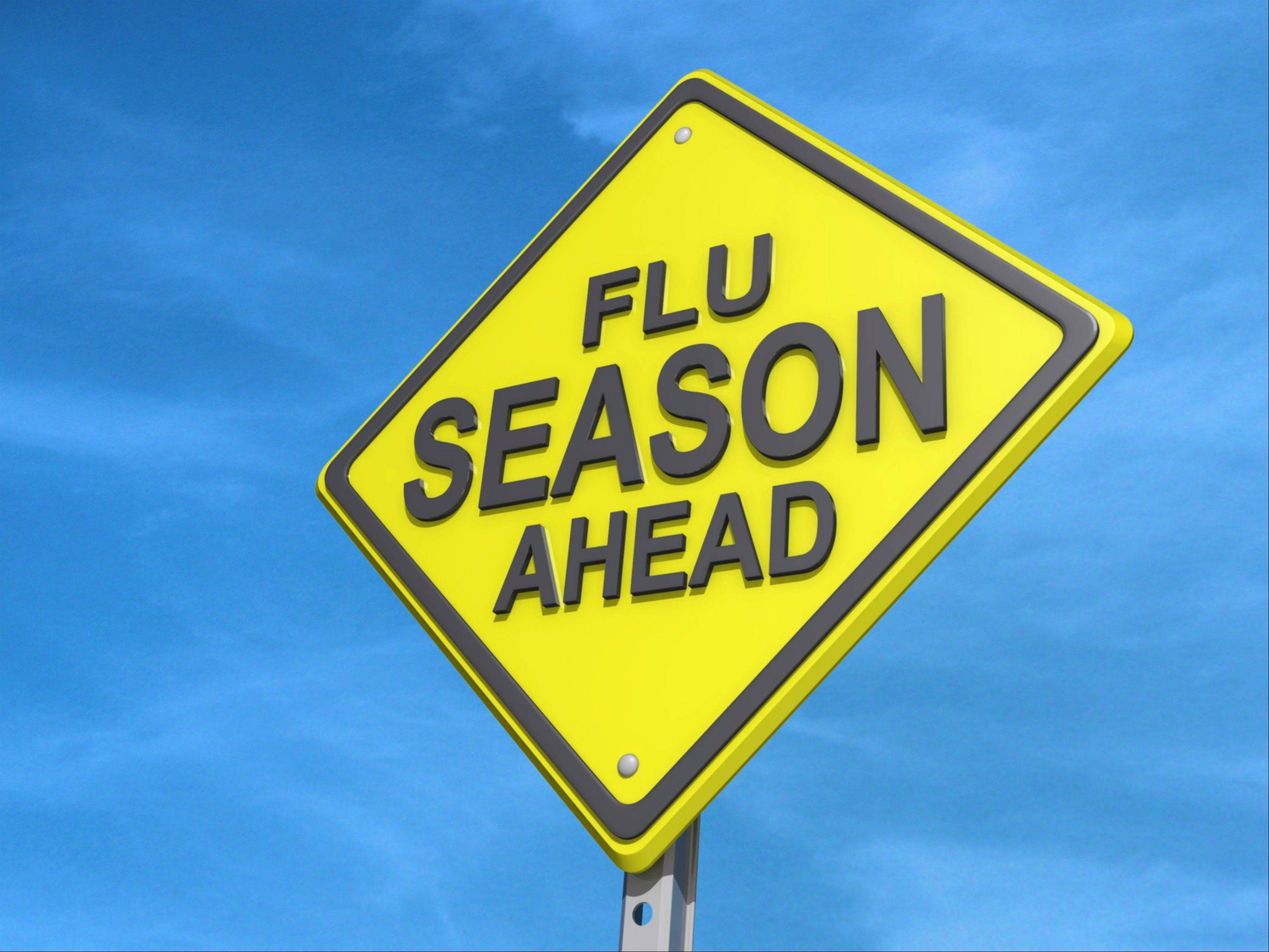 Prepare yourself for the impending flu season by knowing who has it in your neighborhood.