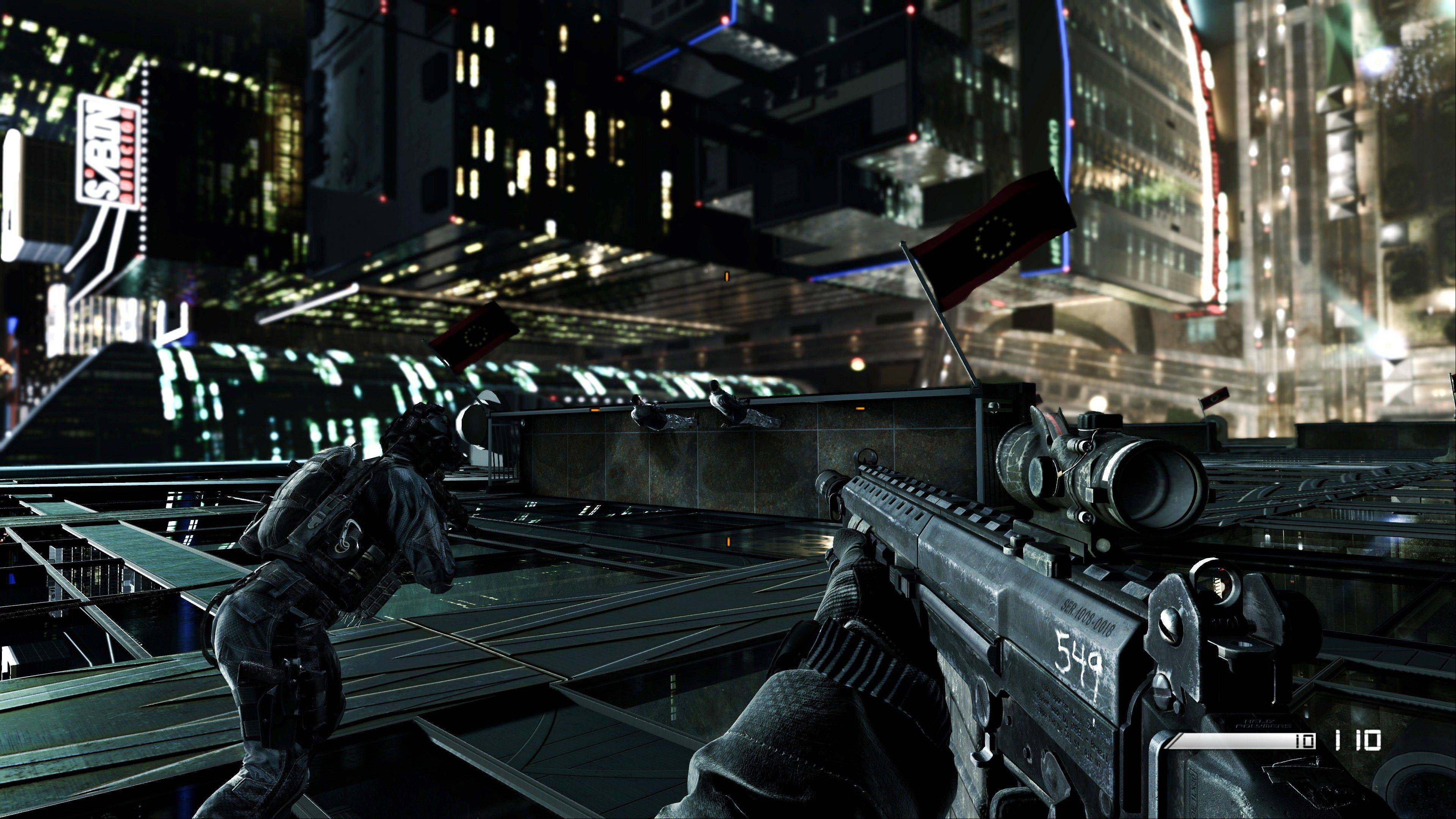 "The multiplayer and cooperative modes are more varied than they have been in the past in ""Call of Duty: Ghosts."""