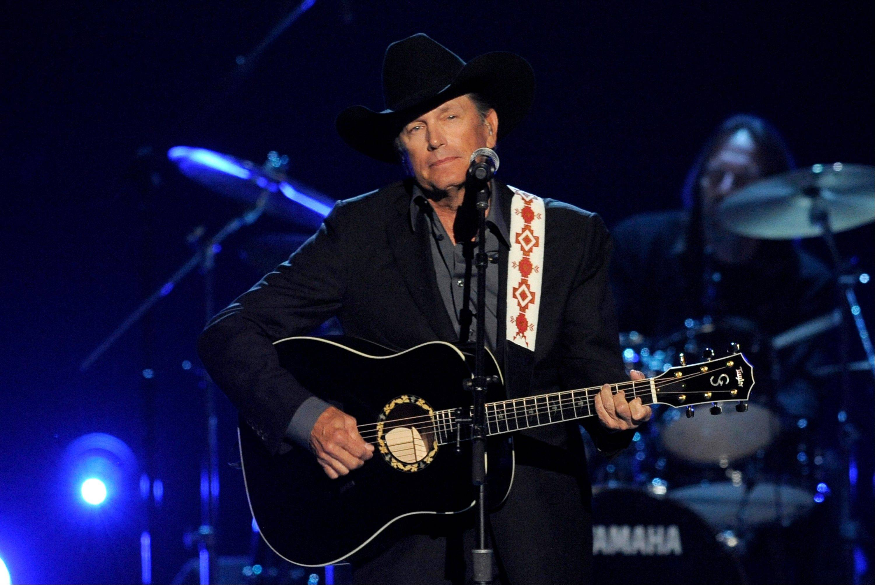 George Strait, the Country Music Association's most-nominated artist, is up for entertainer of the year Wednesday night.