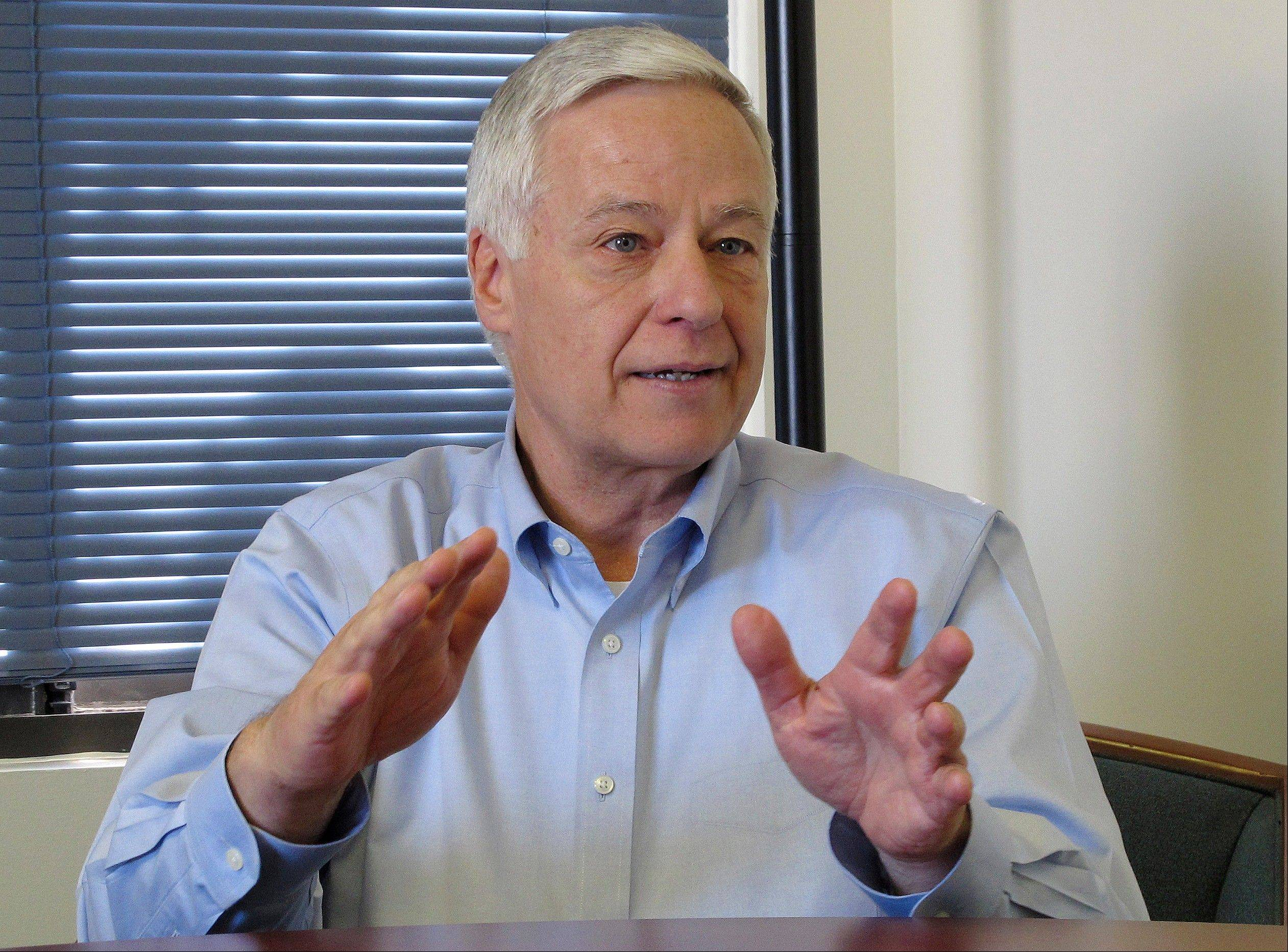 U.S. Rep. Mike Michaud, a Democrat running for governor of Maine, said he came out as gay to dispel �whisper campaigns� about his sexuality as the three-way race for governor began to take shape.