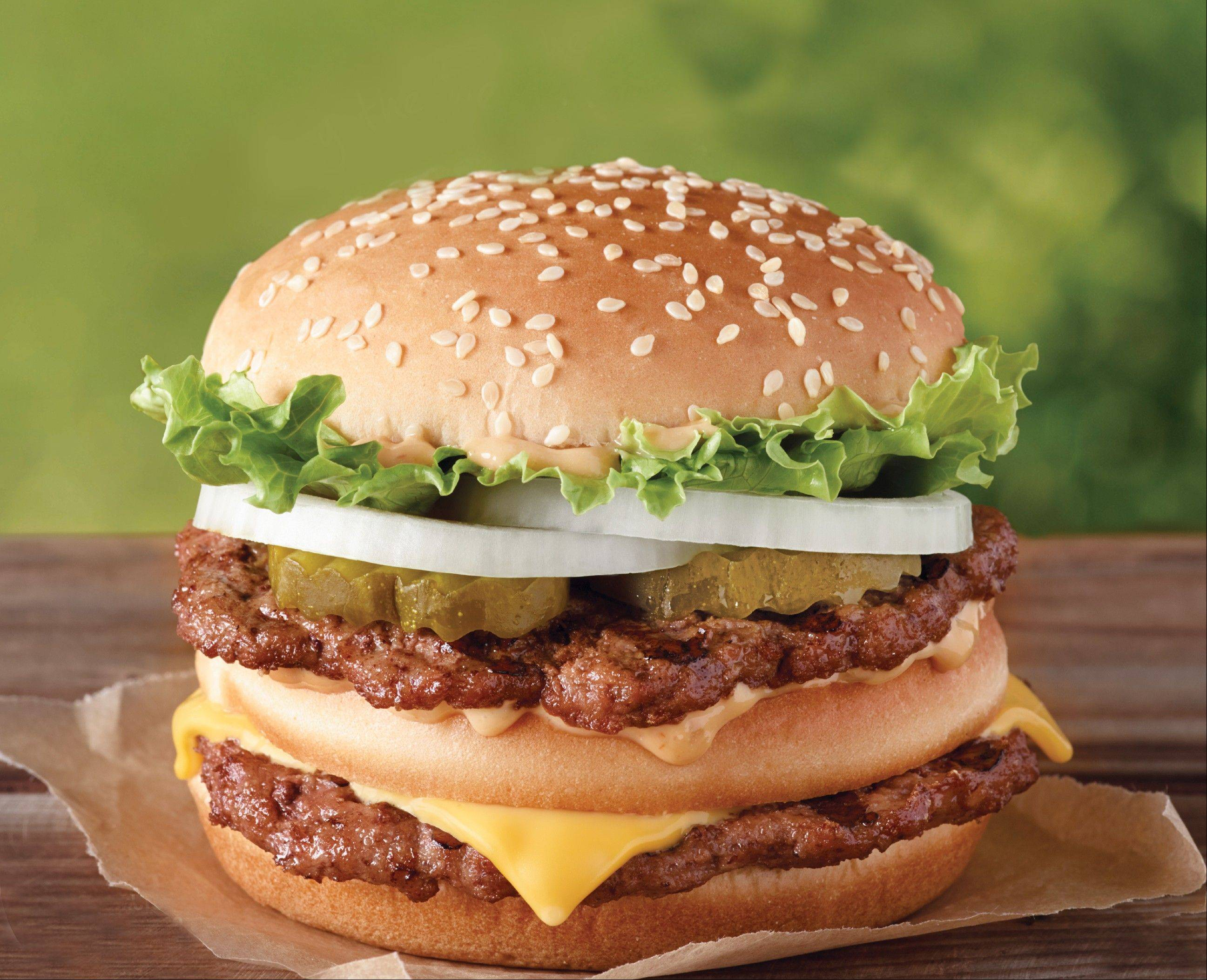 "Burger King says its ""Big King"" sandwich, which looks a lot like McDonald's popular Big Mac, is a permanent addition to its menu."