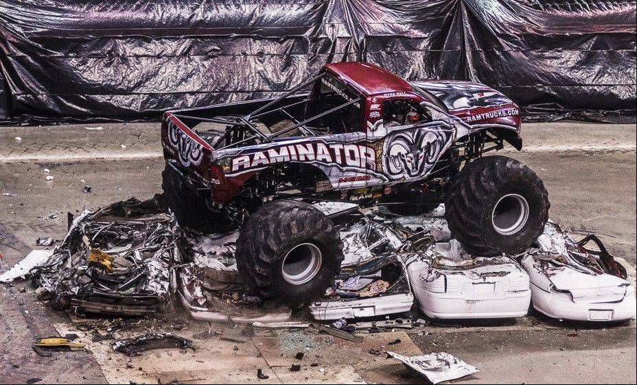 "The Raminator monster truck is one of the high-powered vehicles featured in the Lucas Oil Monster Truck Nationals' ""Monster Nite Out,"" coming to the Sears Centre Arena in March."