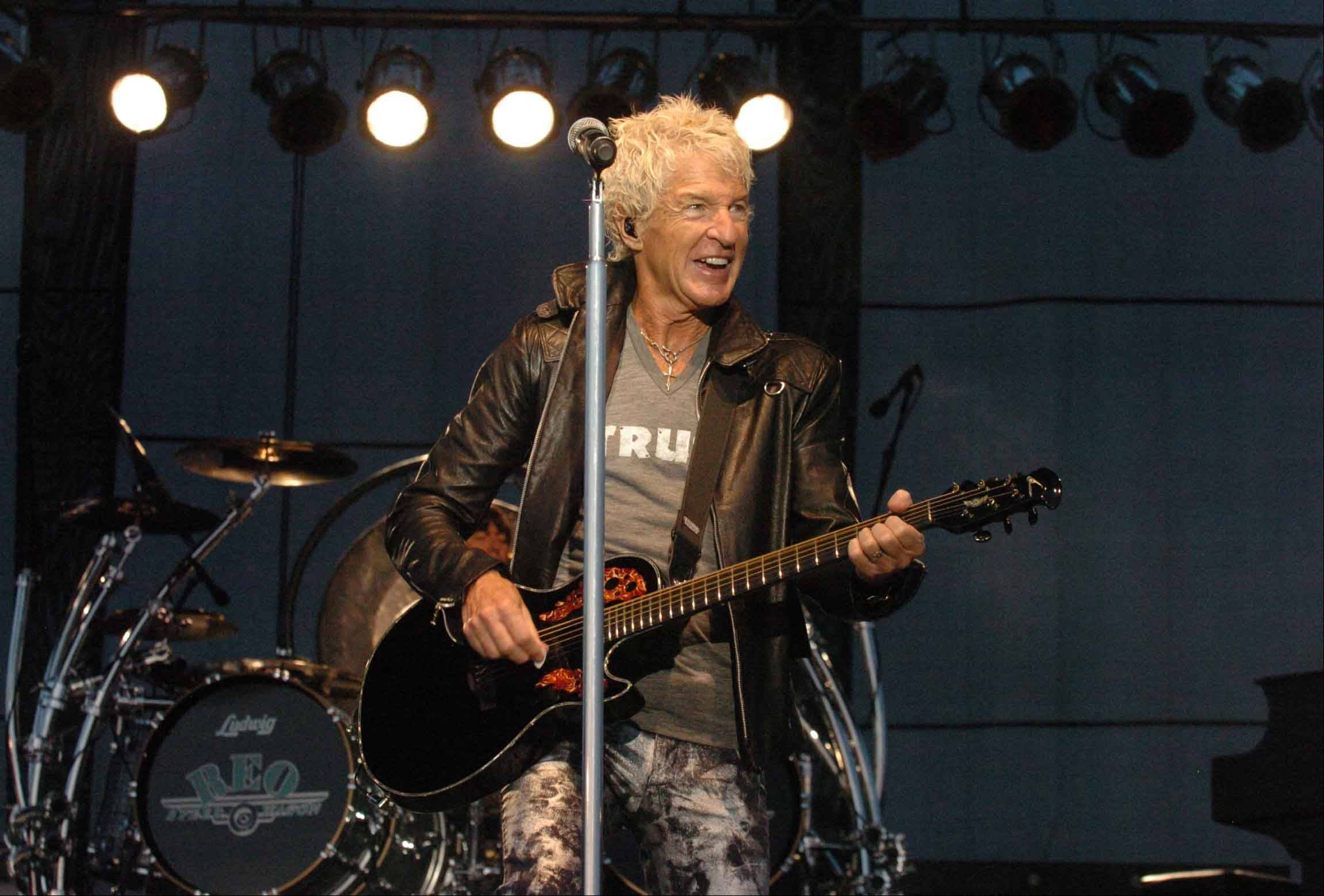 REO Speedwagon returns to the area for a concert on Saturday, Jan. 18, at the Rosemont Theatre.