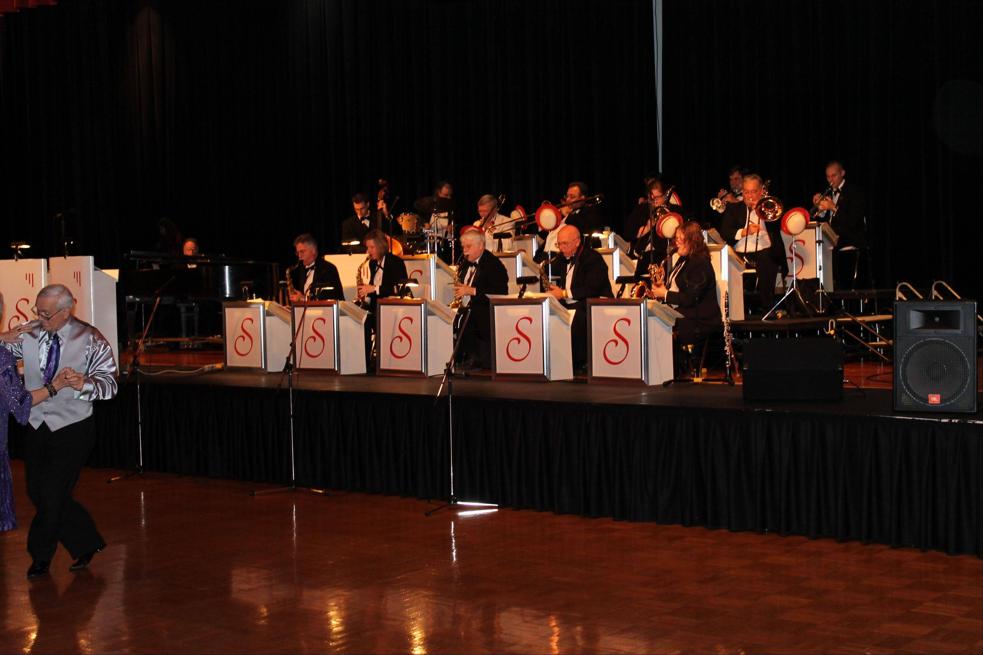 "The Shananigans Big Band is set to perform at the Let's Dance ""November Splendor"" weekend at the Duke Ellington Ballroom in the Holmes Student Center at Northern Illinois University in DeKalb."