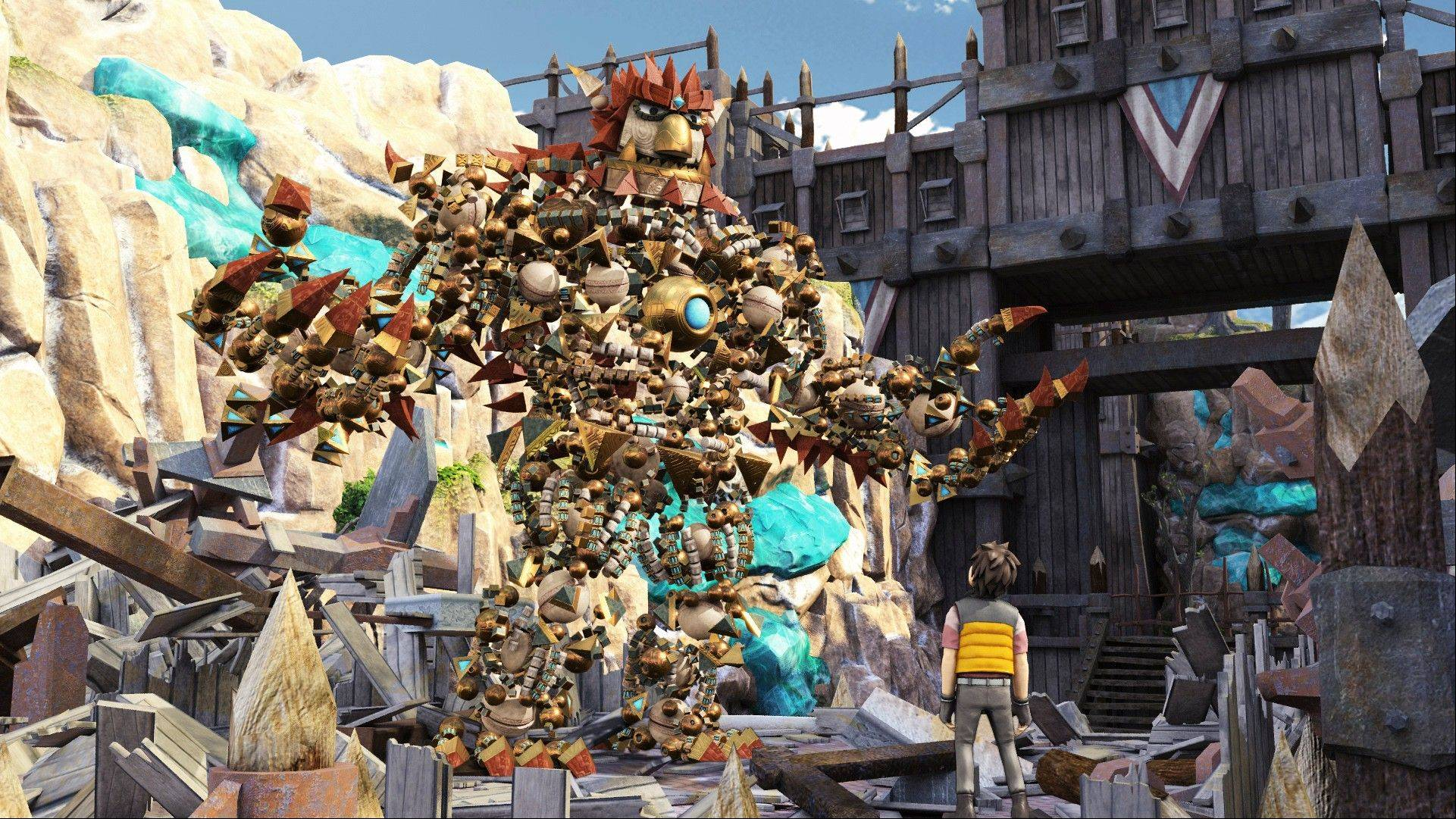 """Knack"" marks a departure for Sony games' image, more famous for battle and adult action genres."