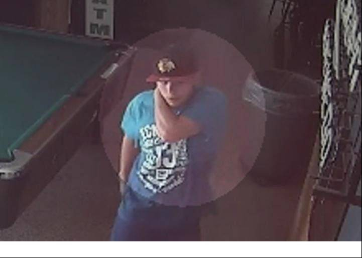 Aurora Police say the man in this surveillance video assaulted two other men Oct. 7 on a restaurant on the 700 block of South Lincoln Avenue.