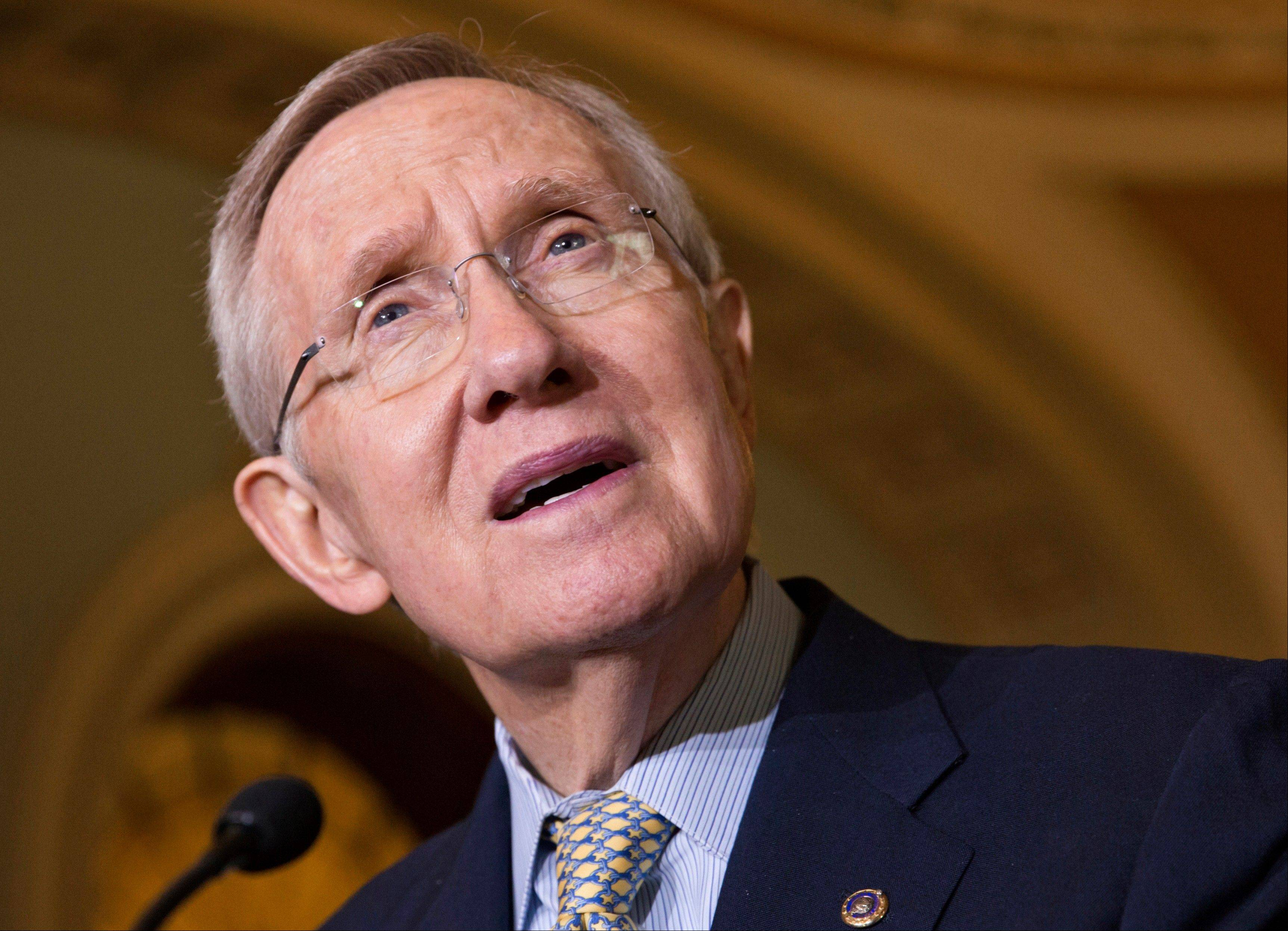 "Senate Majority Leader Harry Reid, D-Nev., blasted House Speaker John Boehner for his insistence that legislation barring workplace discrimination against gays would lead to costly, frivolous lawsuits and undermine job creation. ""Coming from the man whose caucus spent $3 million in taxpayer dollars defending the unconstitutional Defense of Marriage law in court, that's pretty rich,"" said Reid."