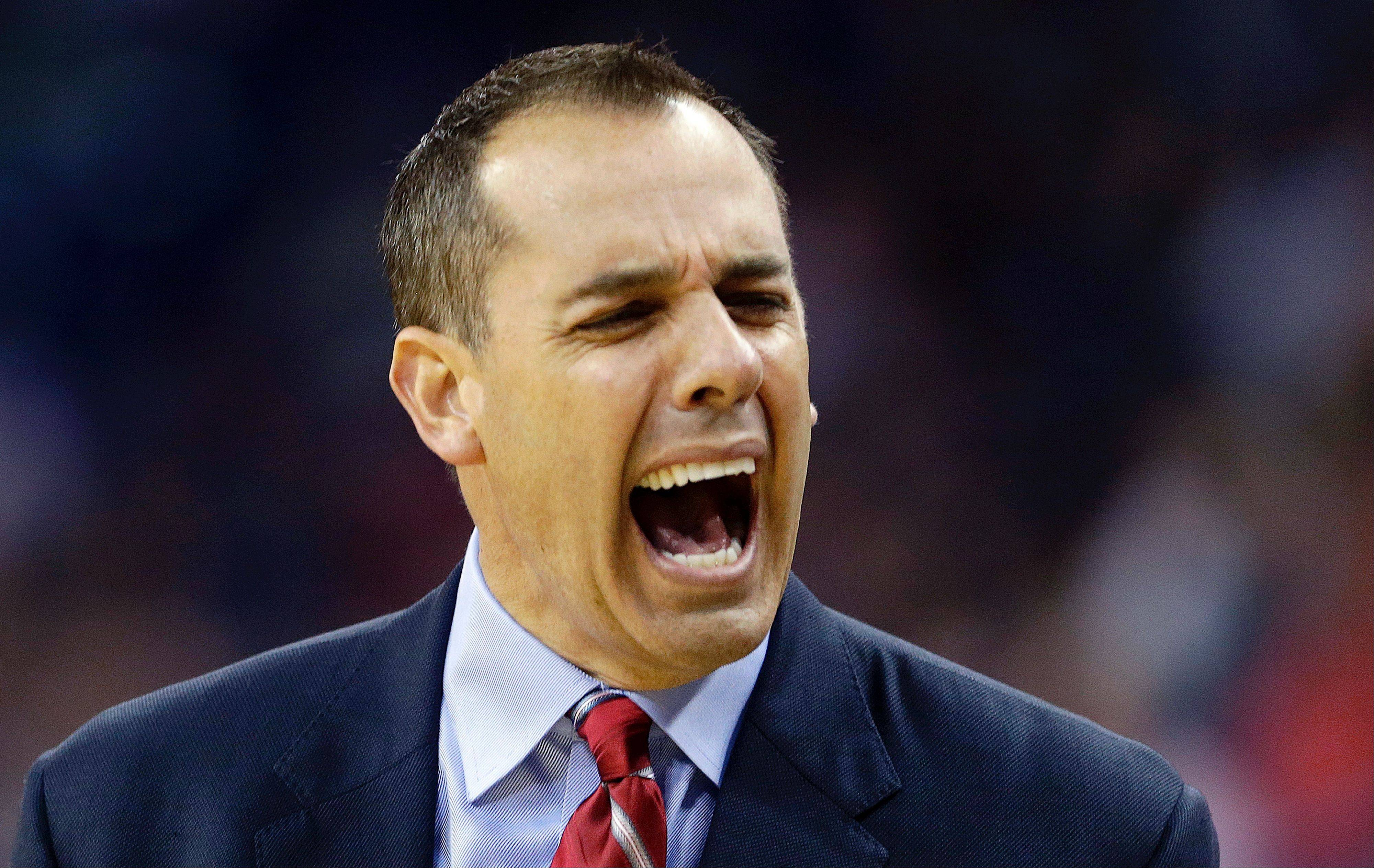 Since taking over the Pacers in early 2011, coach Frank Vogel has helped Indiana to a 122-74 record, pendings Tuesday night's game. The Pacers and the Bulls meet Wednesday in Indianapolis.