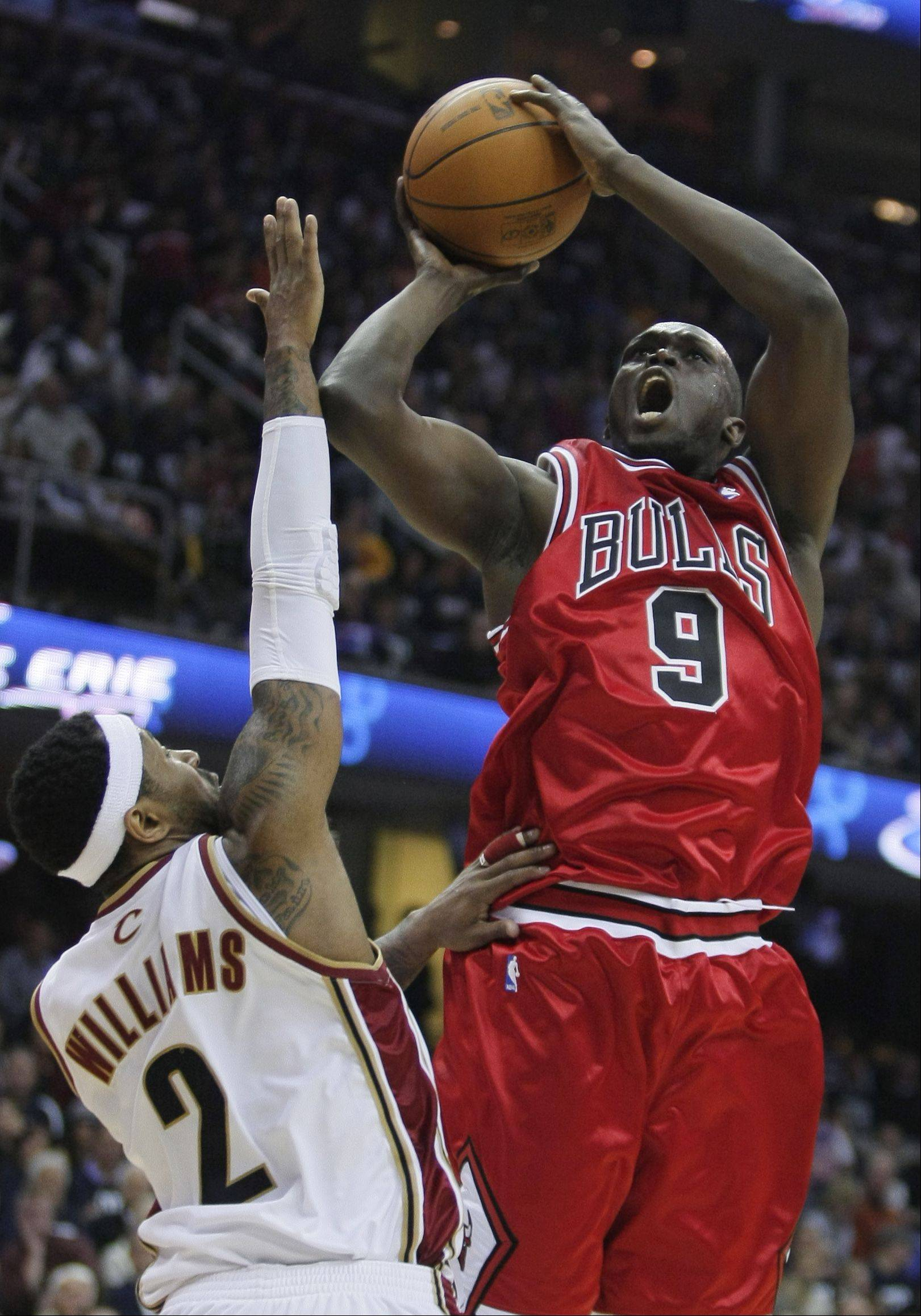 The Bulls' Luol Deng has struggled from 3-point range this season, going 1-for-12 from long range.