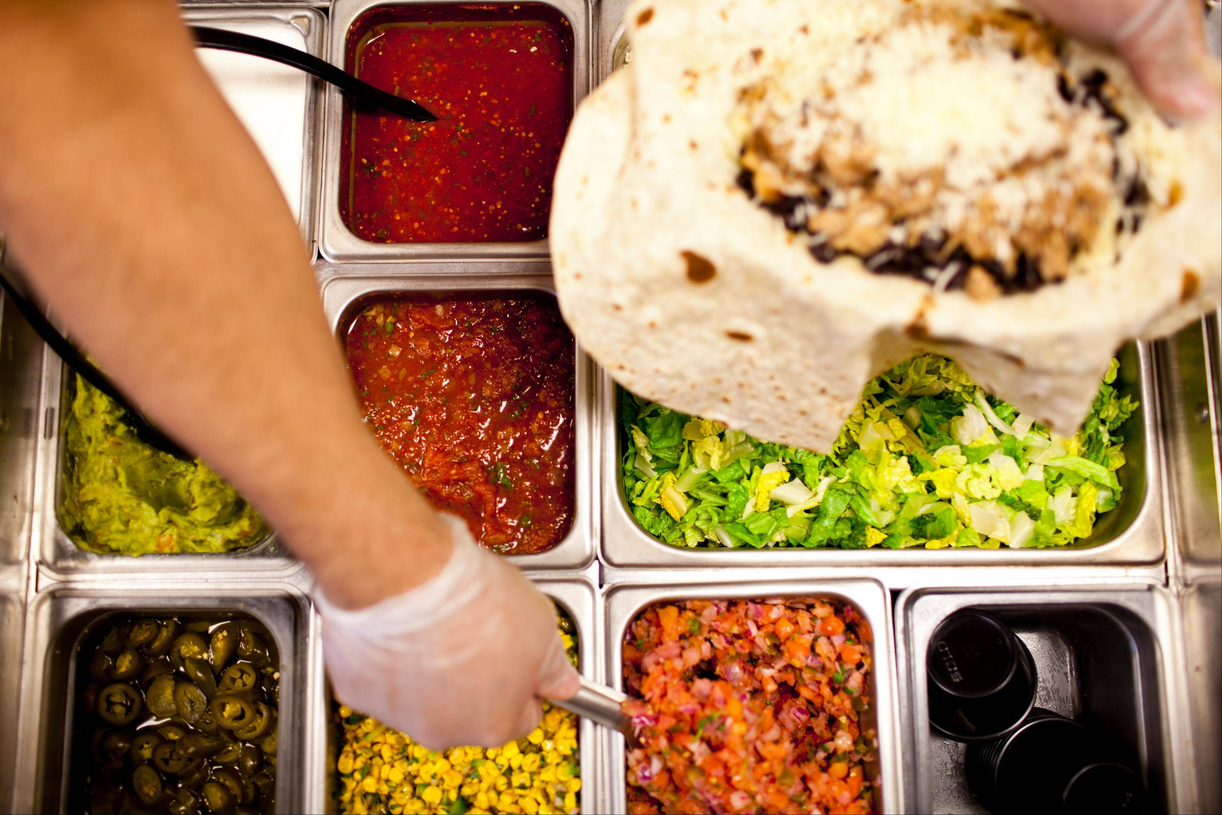 The salsa line includes several zesty flavors to spicy up your order.