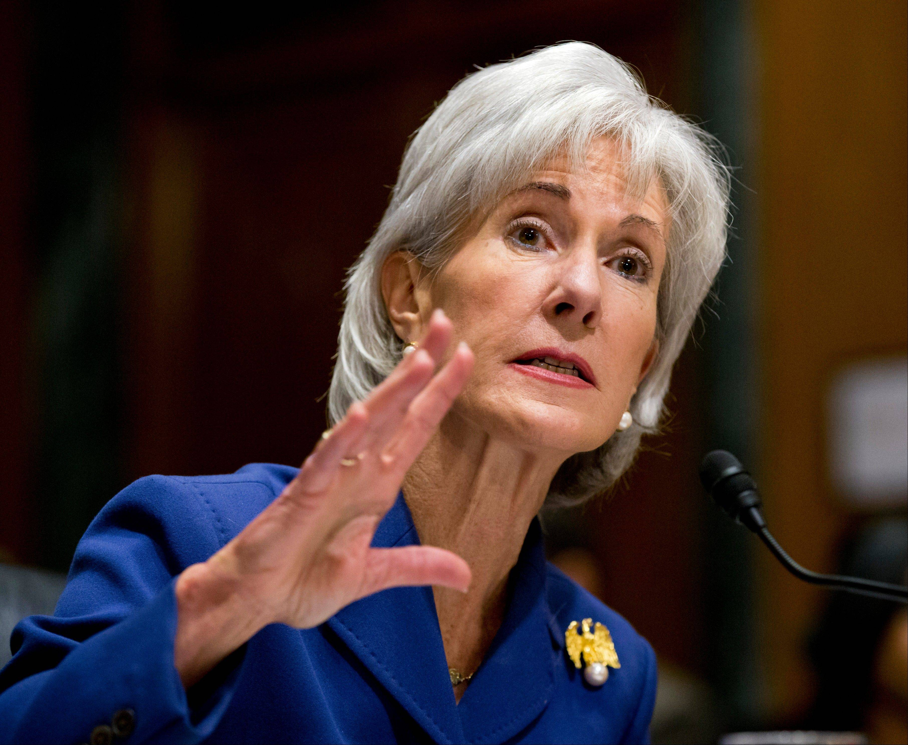 Health and Human Services Secretary Kathleen Sebelius testifies Wednesday before the Senate Finance Committee hearing on the difficulties plaguing the implementation of the Affordable Care Act.