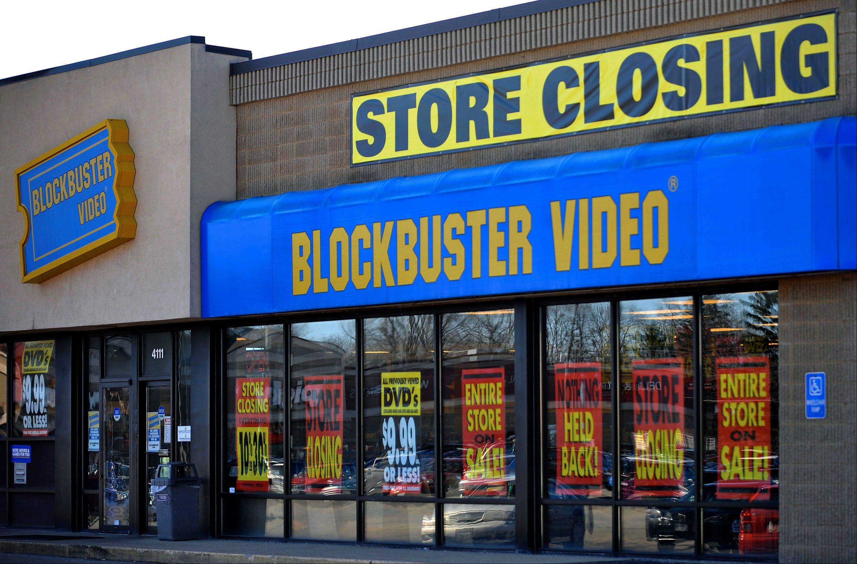 Blockbuster, the video-rental company owned by Dish Network Corp., will close its remaining 300 U.S. stores, ending an era for a chain that was once a ubiquitous part of American shopping centers.