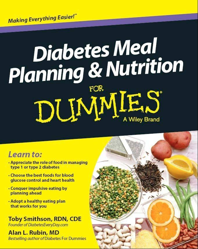 """Diabetes Meal Planning and Nutrition for Dummies"" by Toby Smithson and Alan L. Rubin"