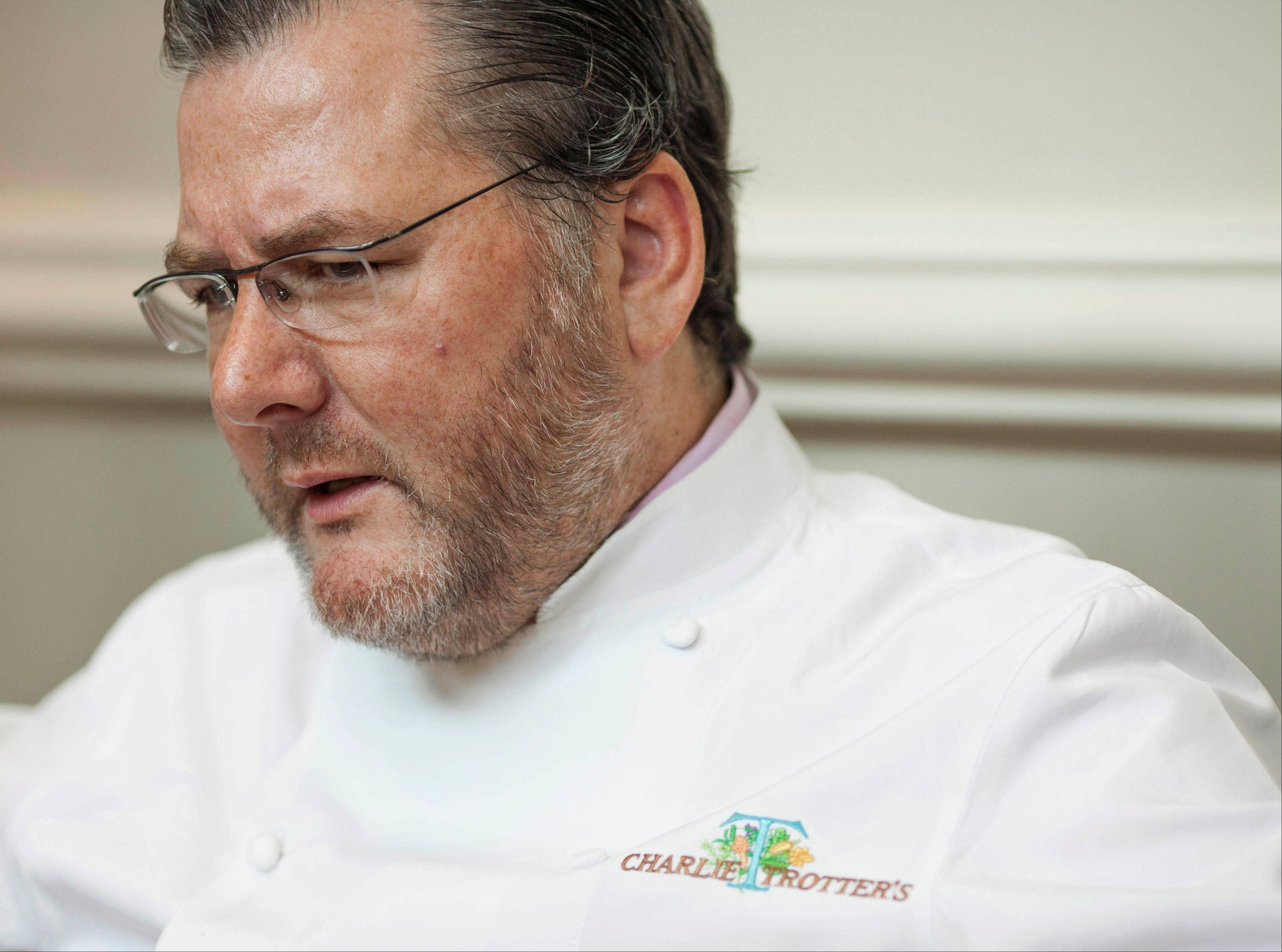 Award-winning chef Charlie Trotter died Tuesday at age 54.