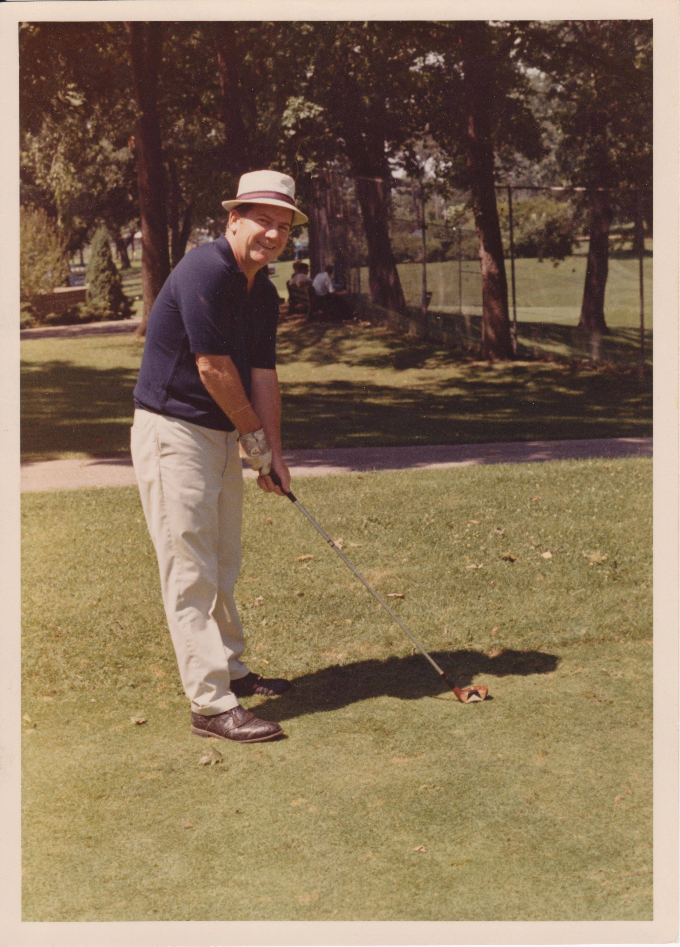 Edward Condon of Arlington Heights loved the golf course.